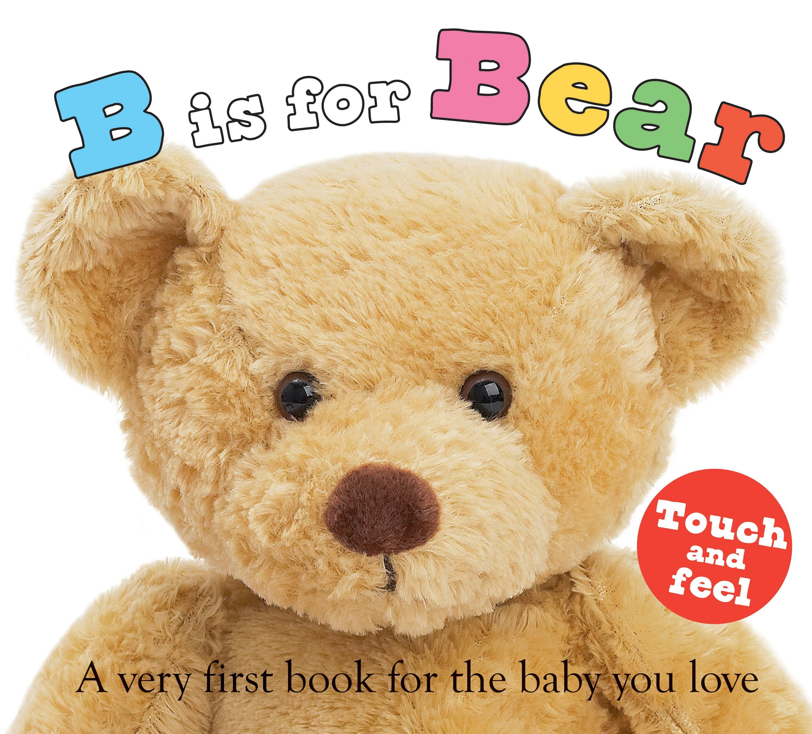 Image of ABC Touch & Feel: B is for Bear