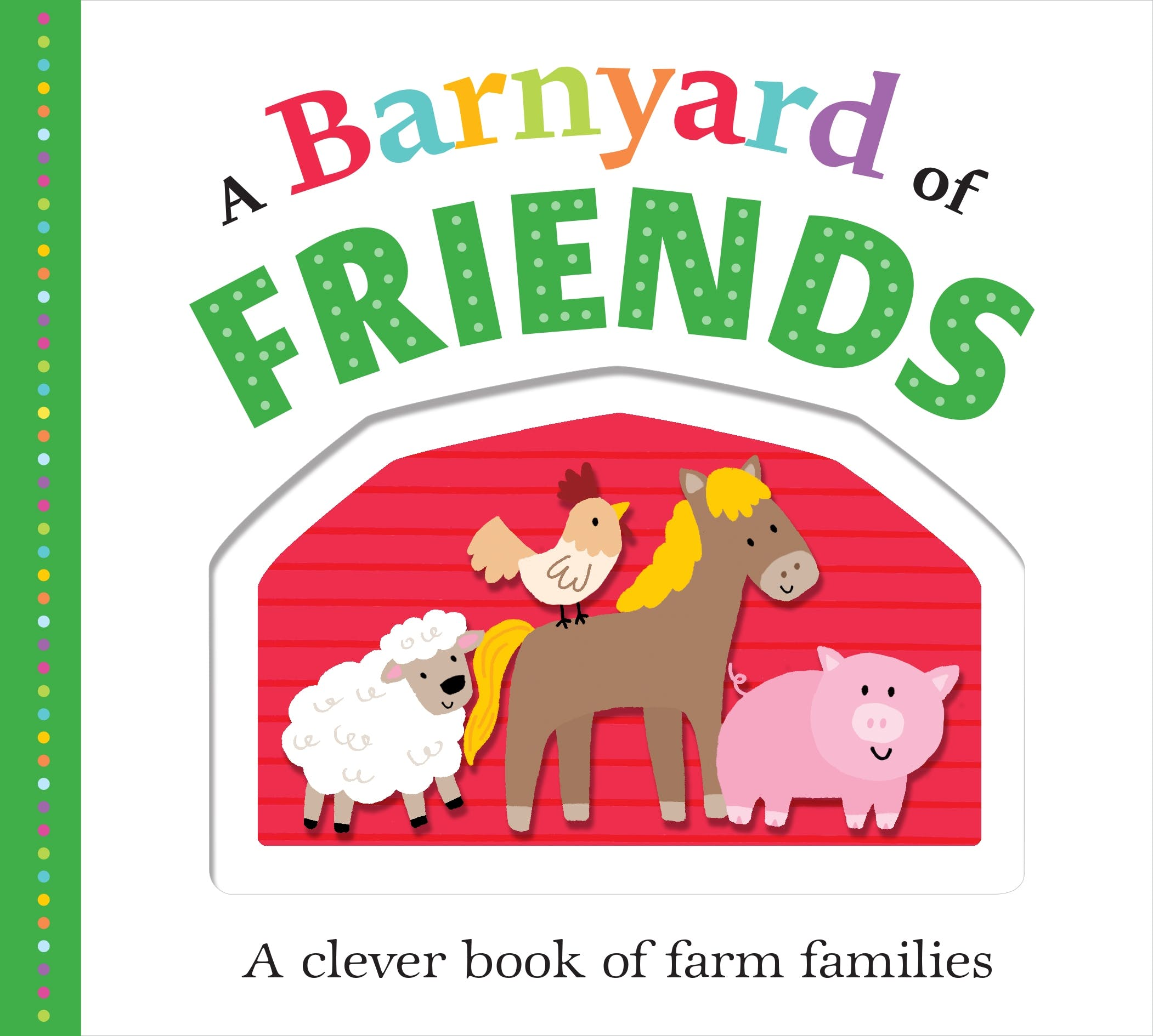 Image of Picture Fit Board Books: A Barnyard of Friends