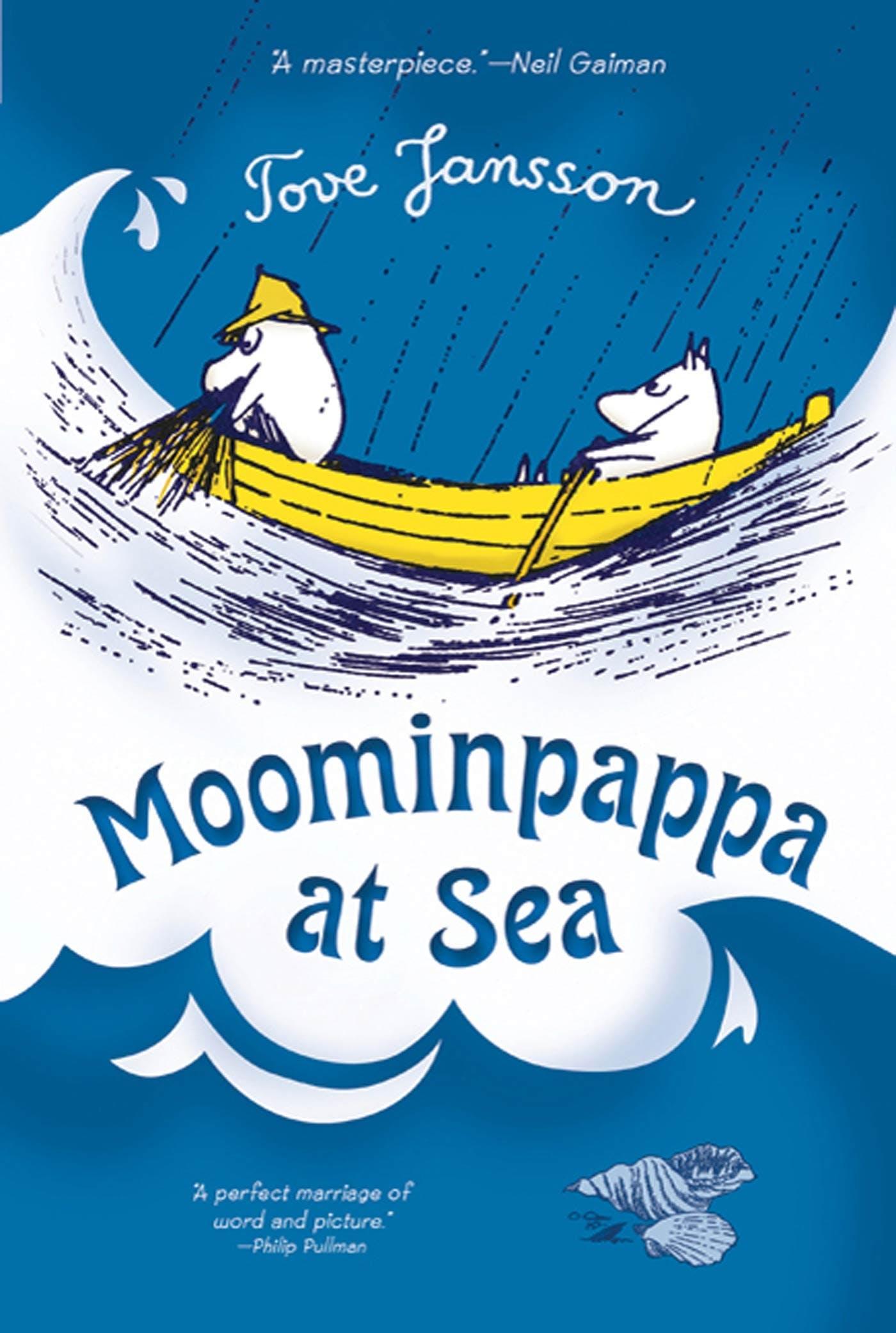 Image of Moominpappa at Sea