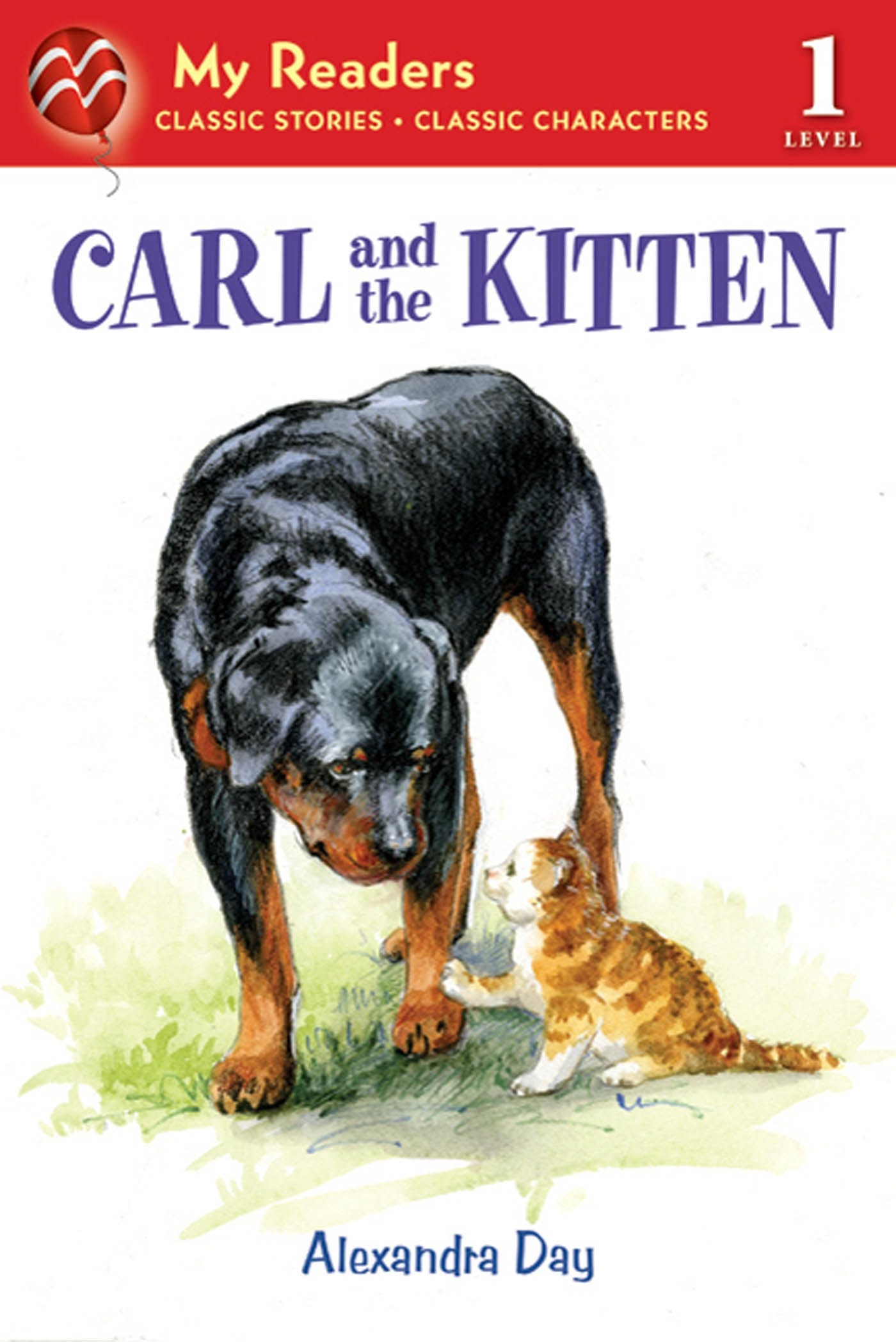 Image of Carl and the Kitten