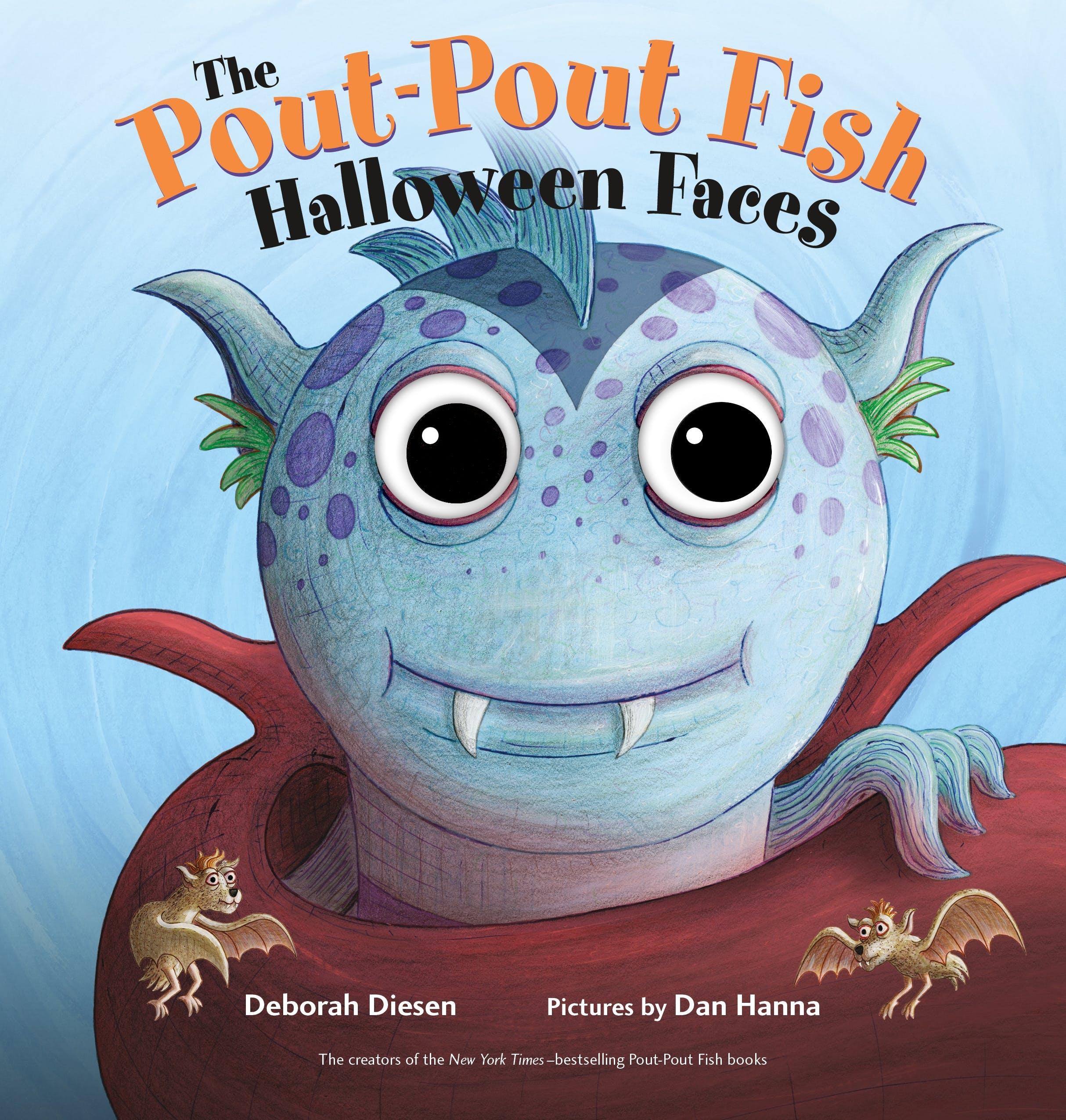 Image of The Pout-Pout Fish Halloween Faces