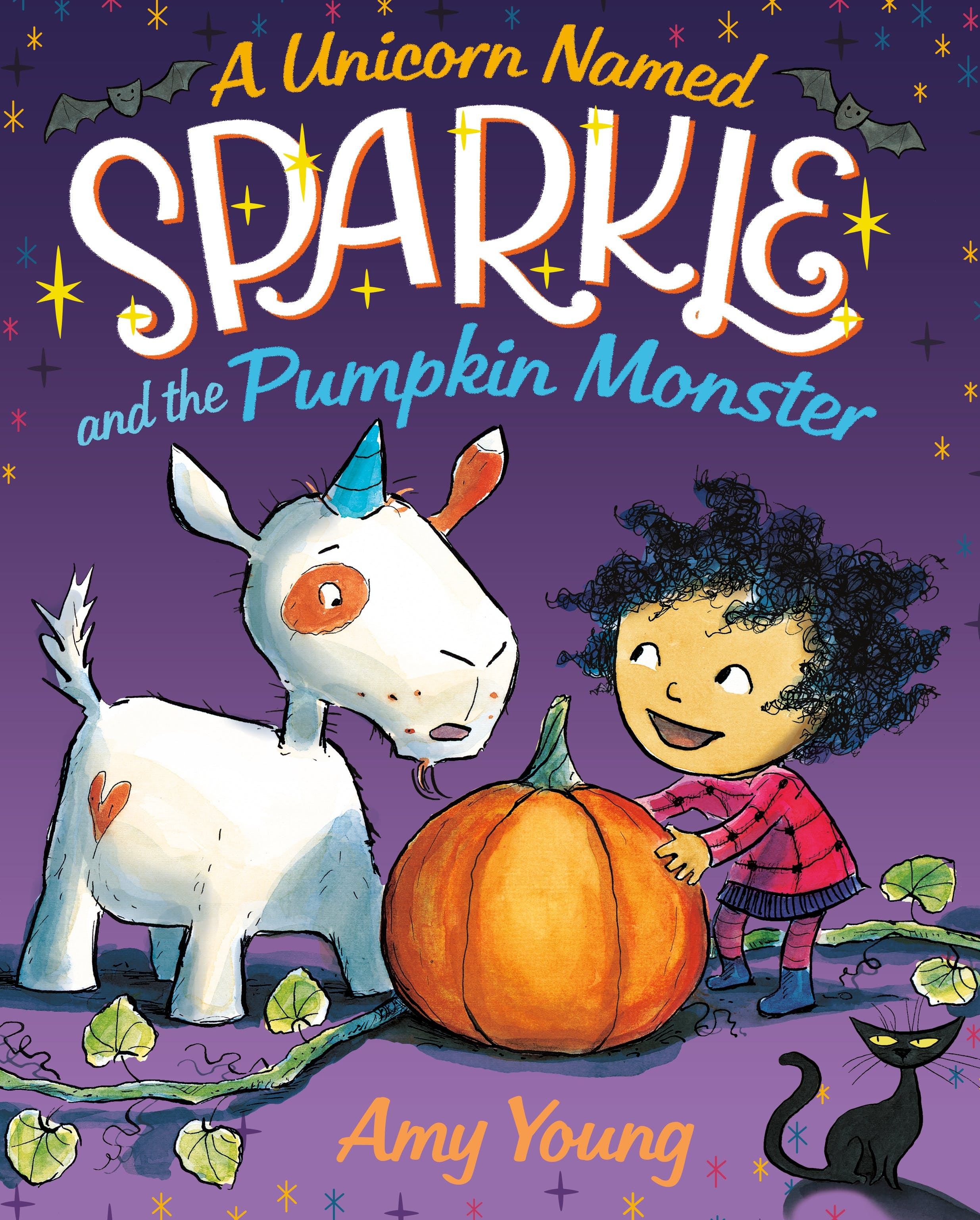 Image of A Unicorn Named Sparkle and the Pumpkin Monster