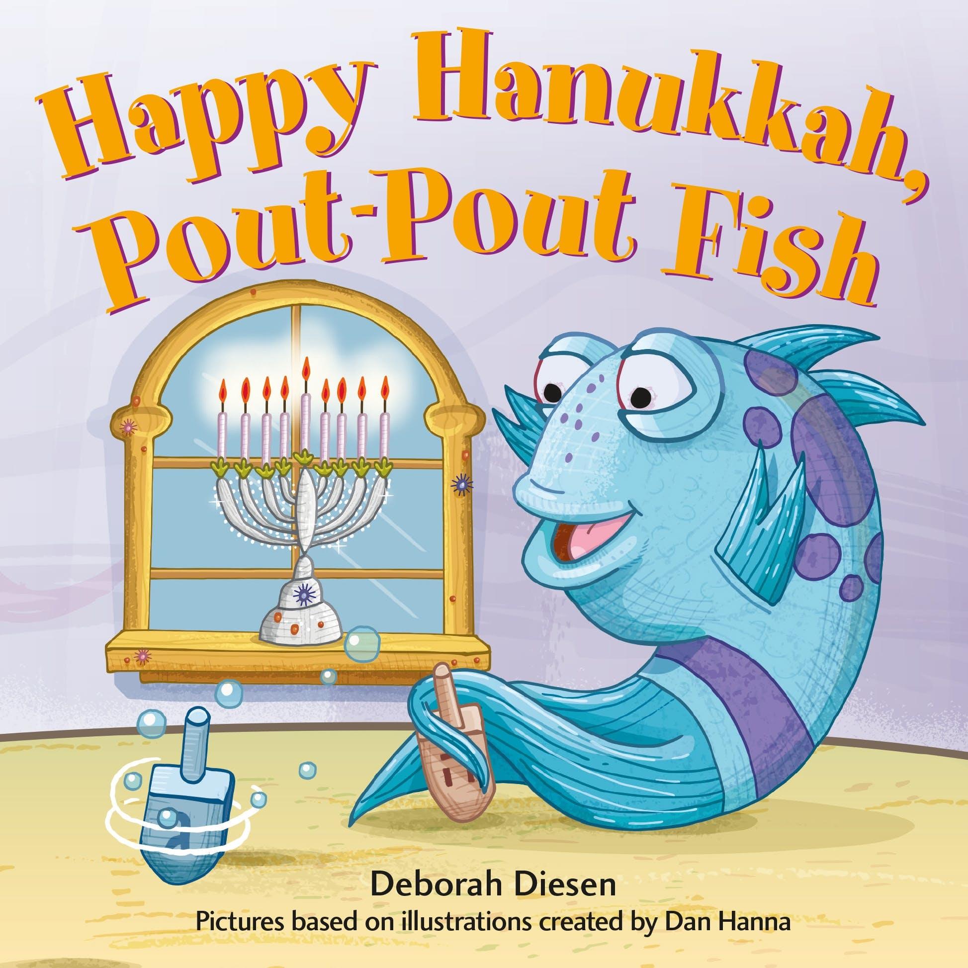 Image of Happy Hanukkah, Pout-Pout Fish