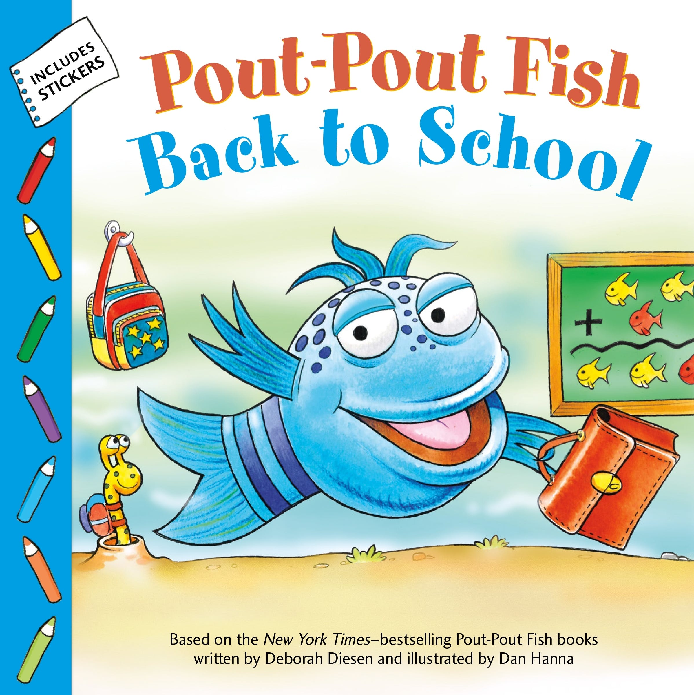 Image of Pout-Pout Fish: Back to School