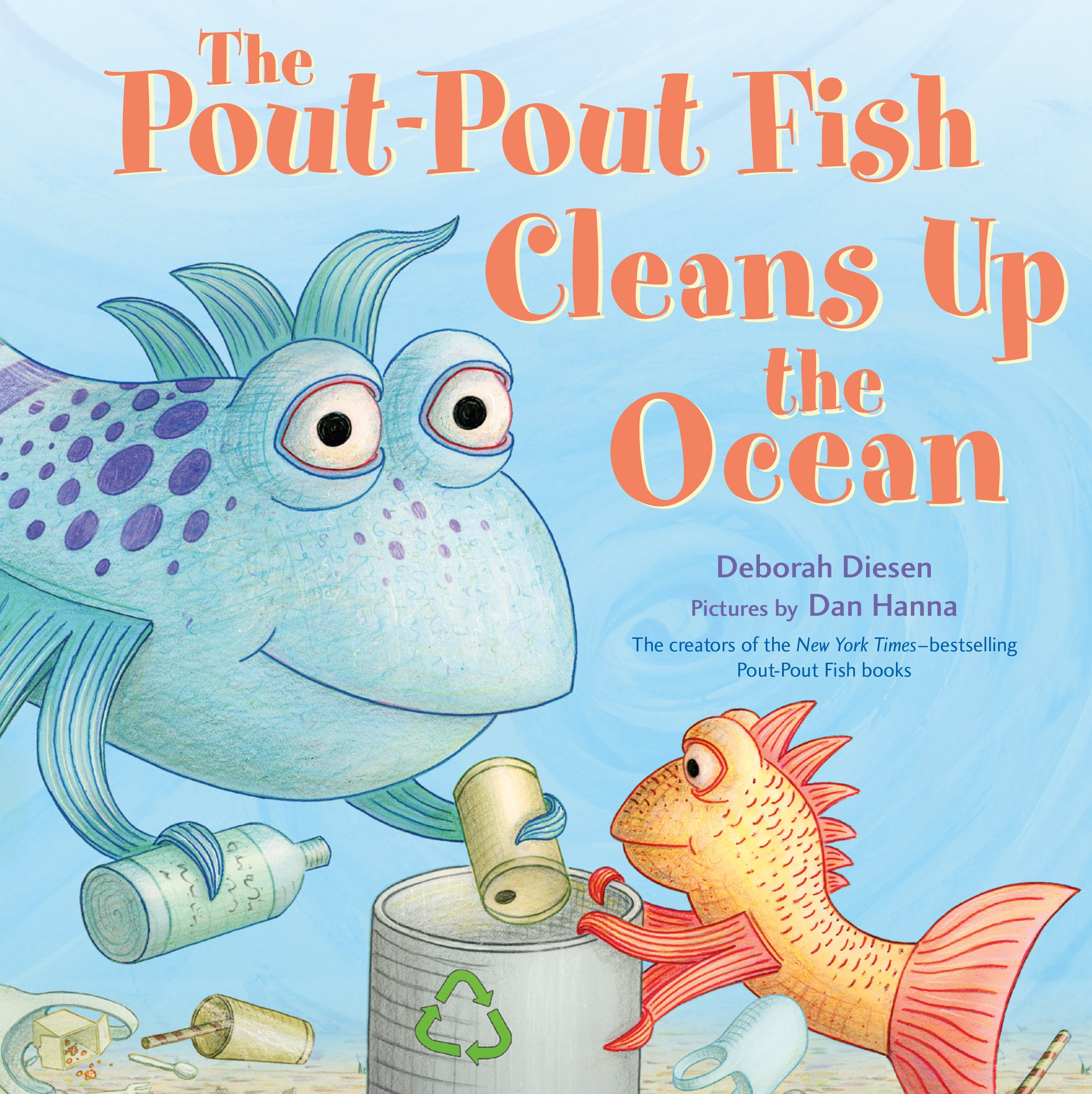 Image of The Pout-Pout Fish Cleans Up the Ocean
