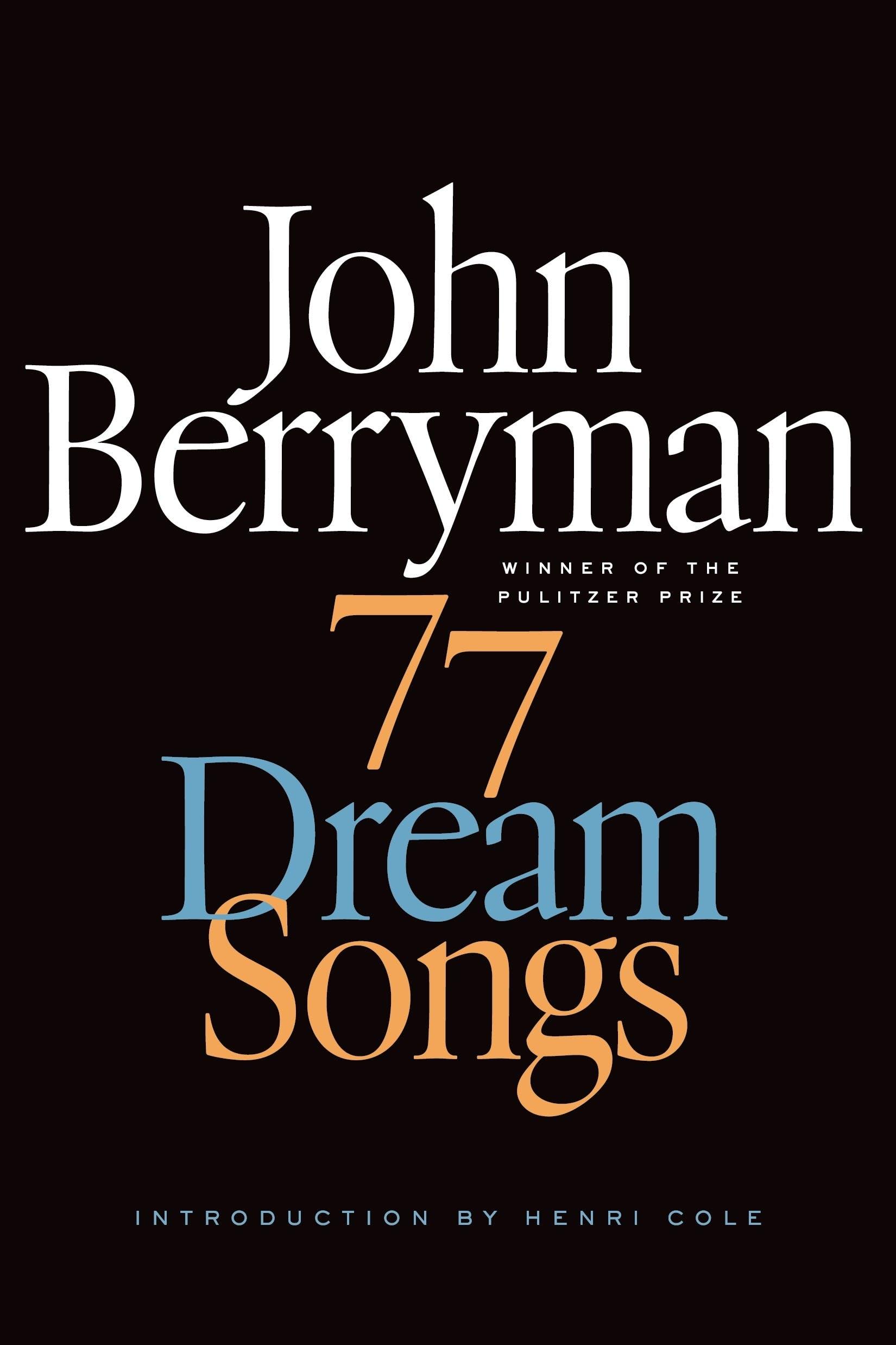Image of 77 Dream Songs