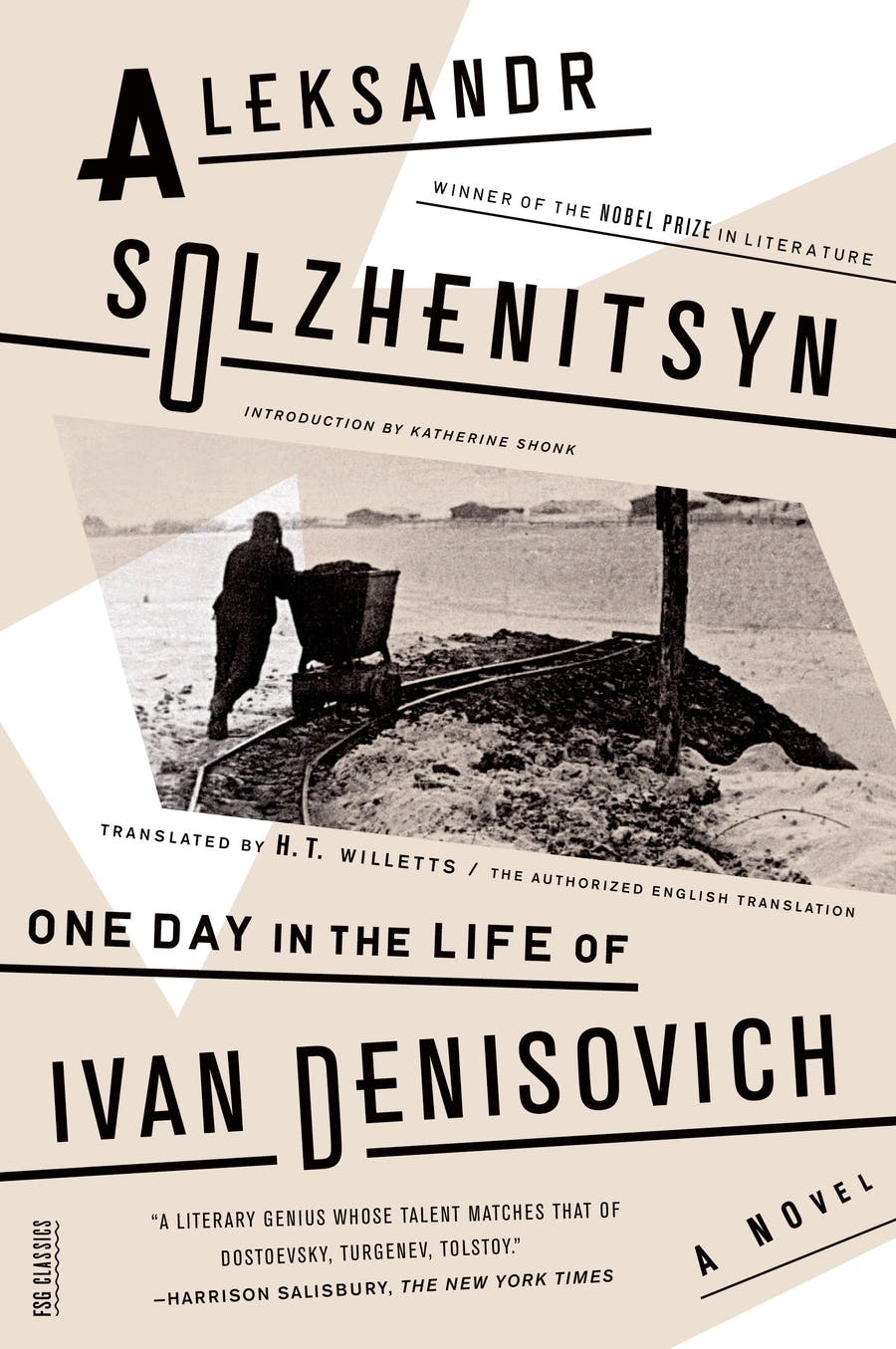 One Day in the Life of Ivan Denisovich by Aleksandr Solzhenitsyn; Translated by H. T. Willetts; Introduction by Katherine Shonk