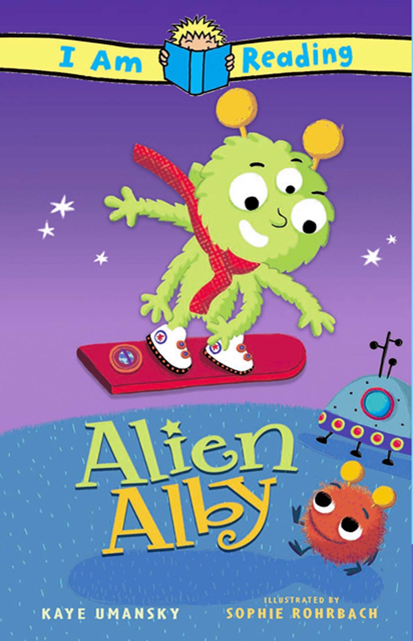 Image of I Am Reading: Alien Alby