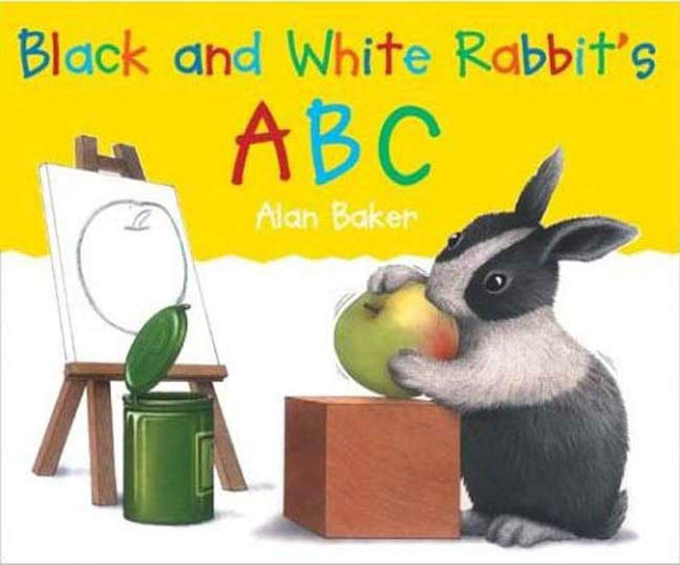 Image of Black and White Rabbit's ABC