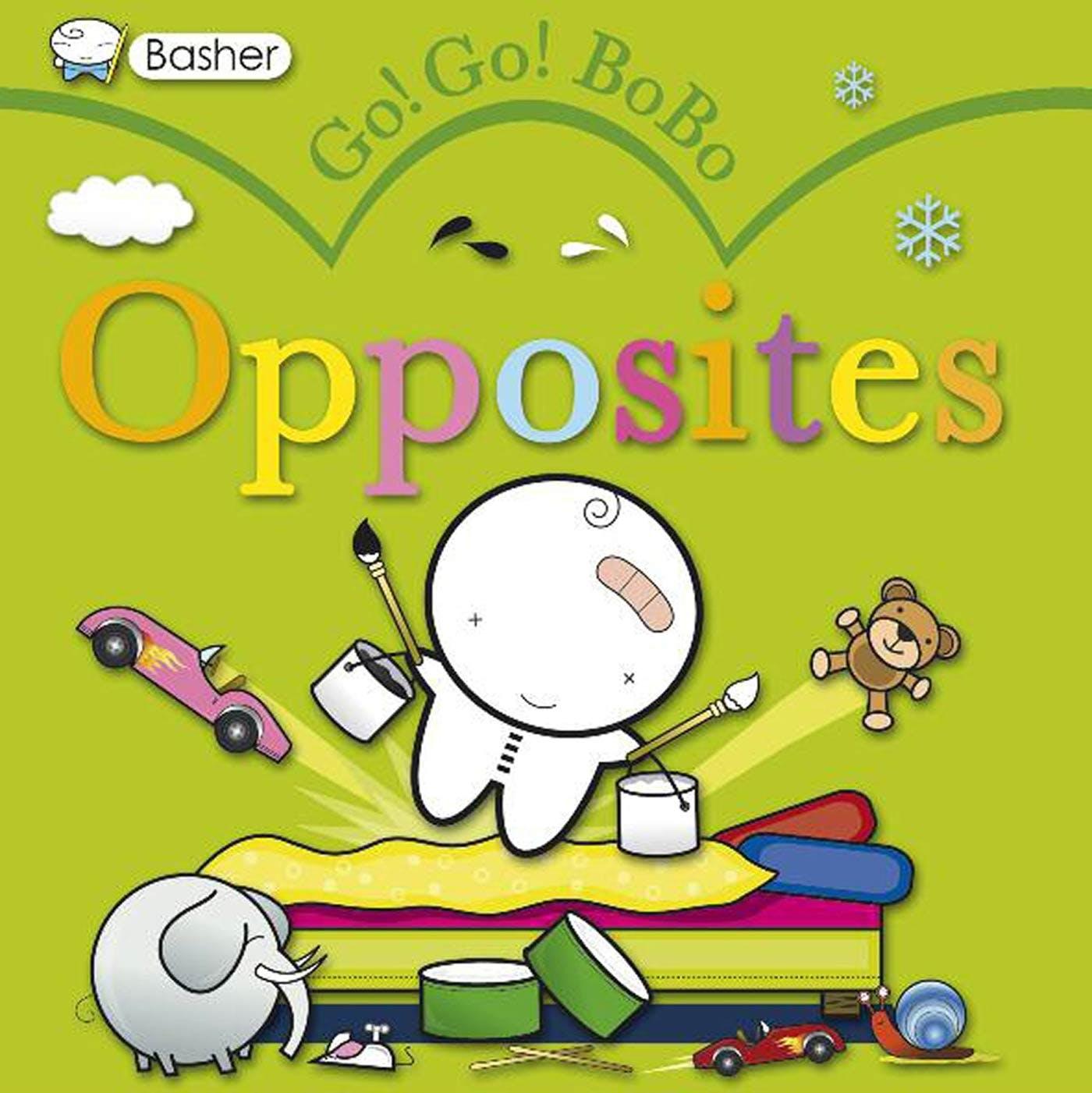 Image of Basher: Go! Go! BoBo Opposites