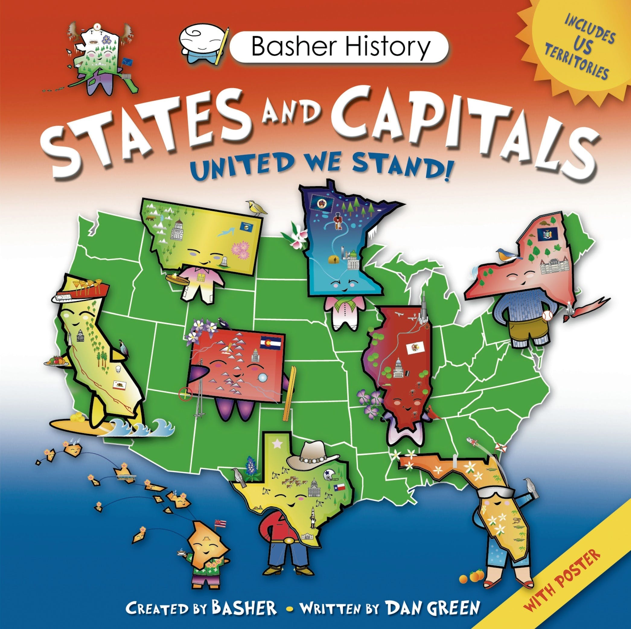 Image of Basher History: States and Capitals
