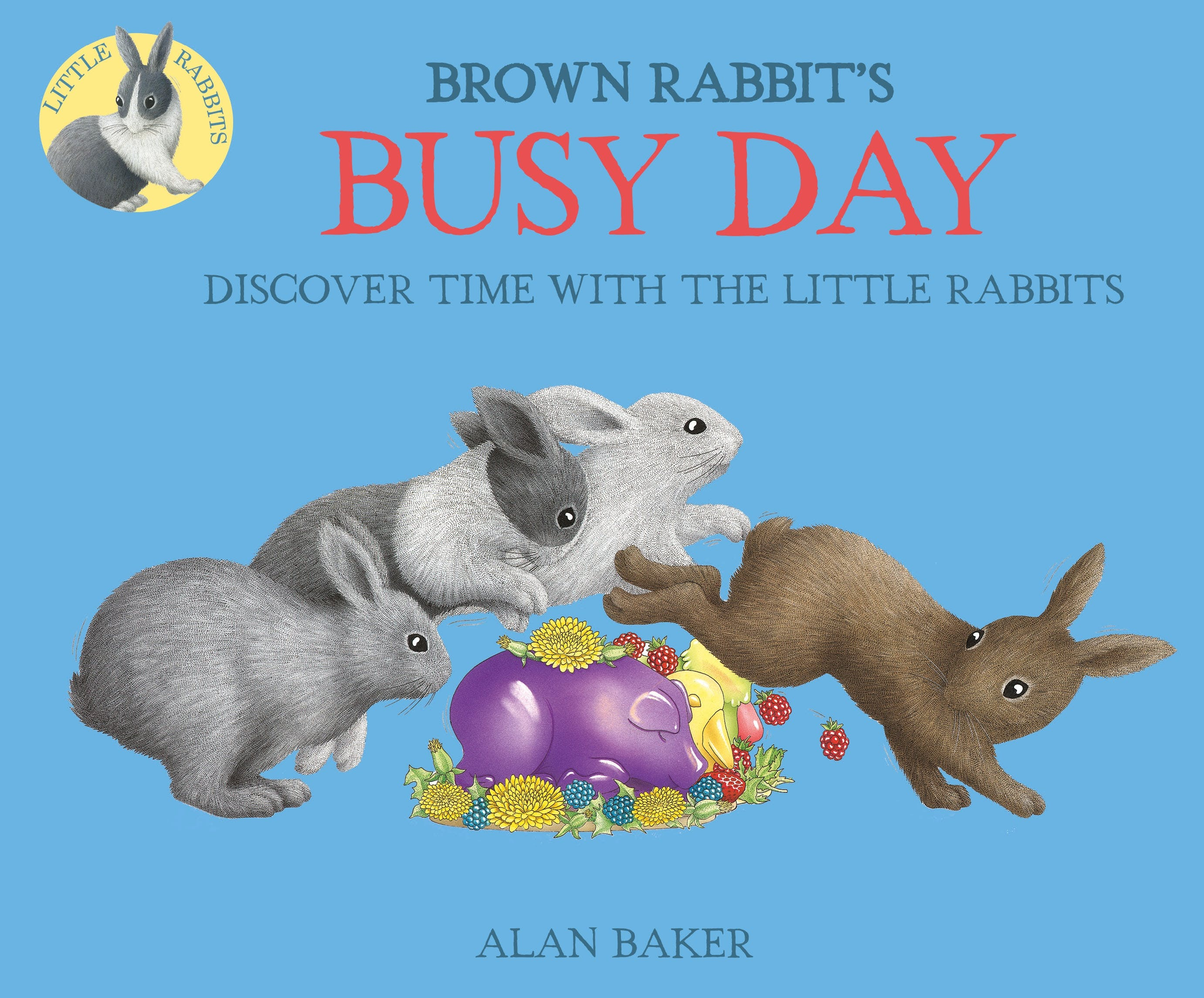 Image of Brown Rabbit's Busy Day