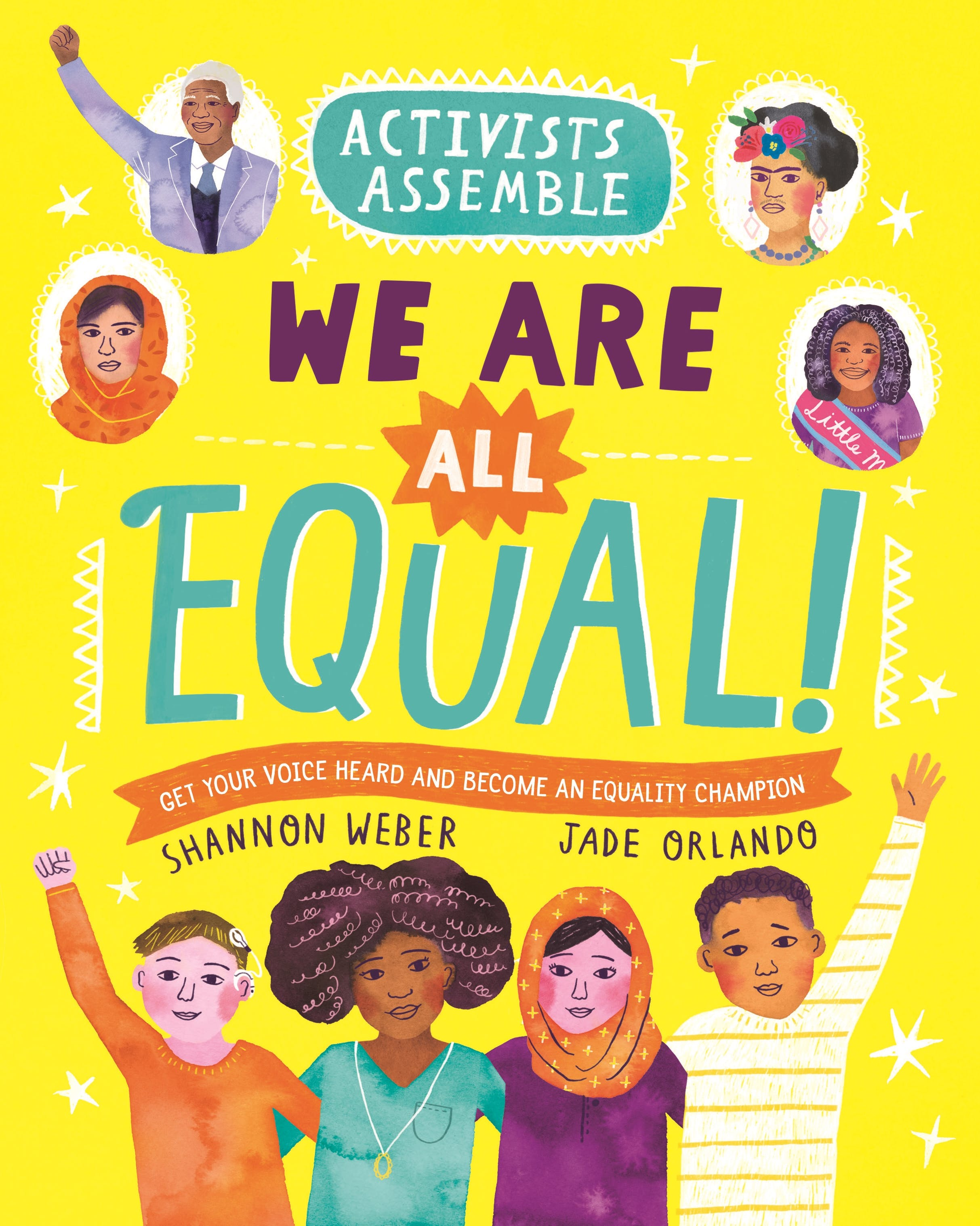 Image of Activists Assemble—We Are All Equal!