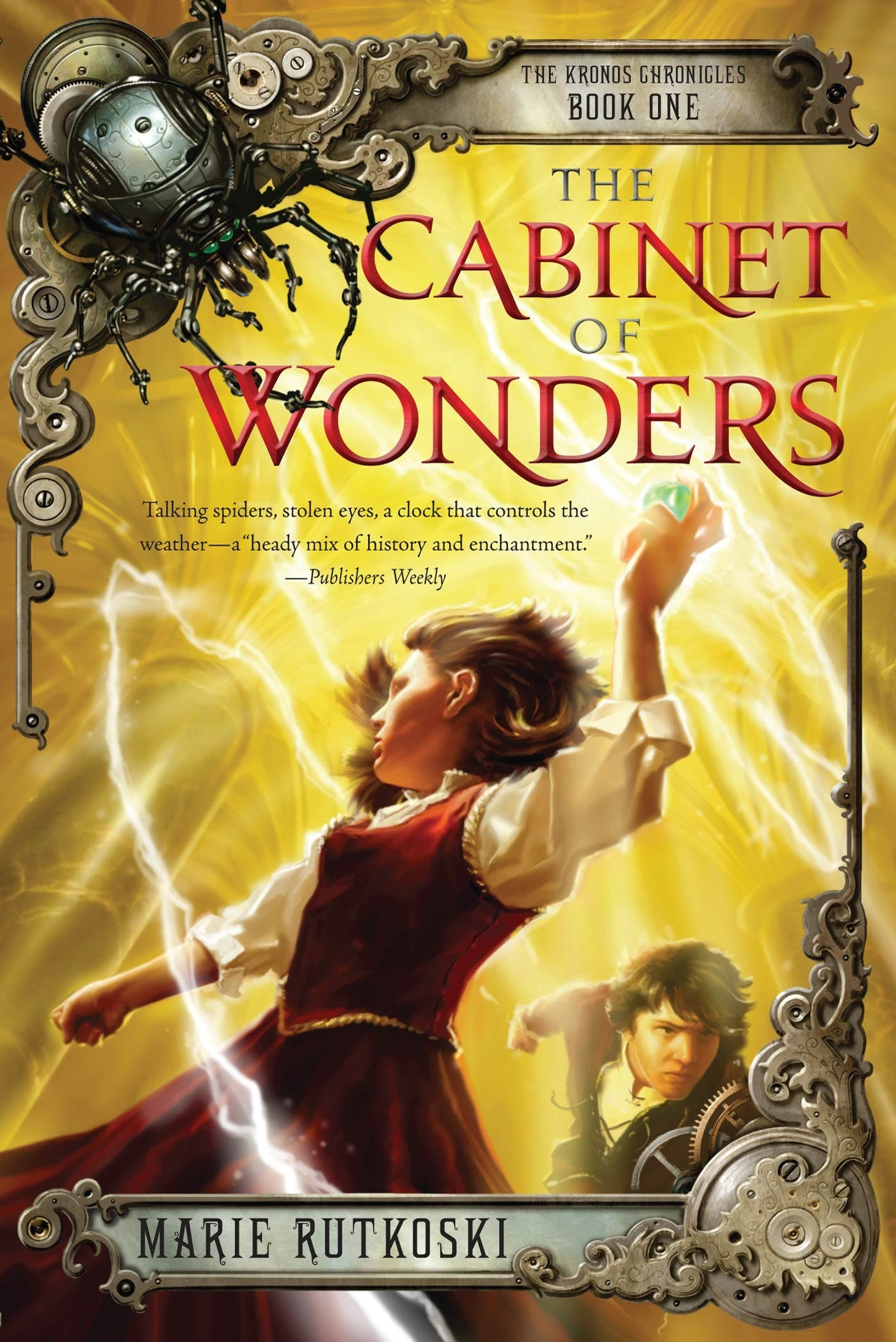 Image of The Cabinet of Wonders