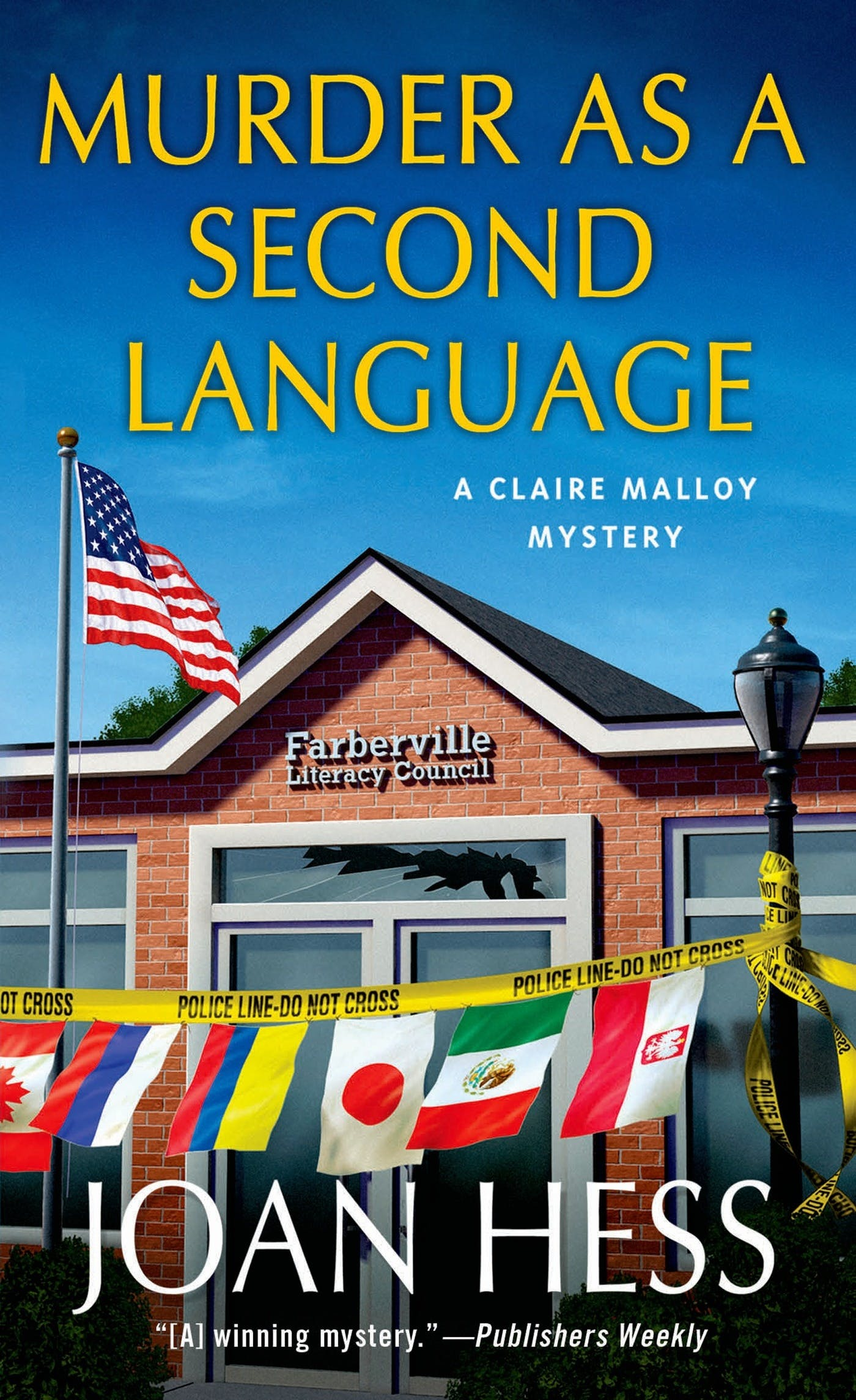 Image of Murder as a Second Language