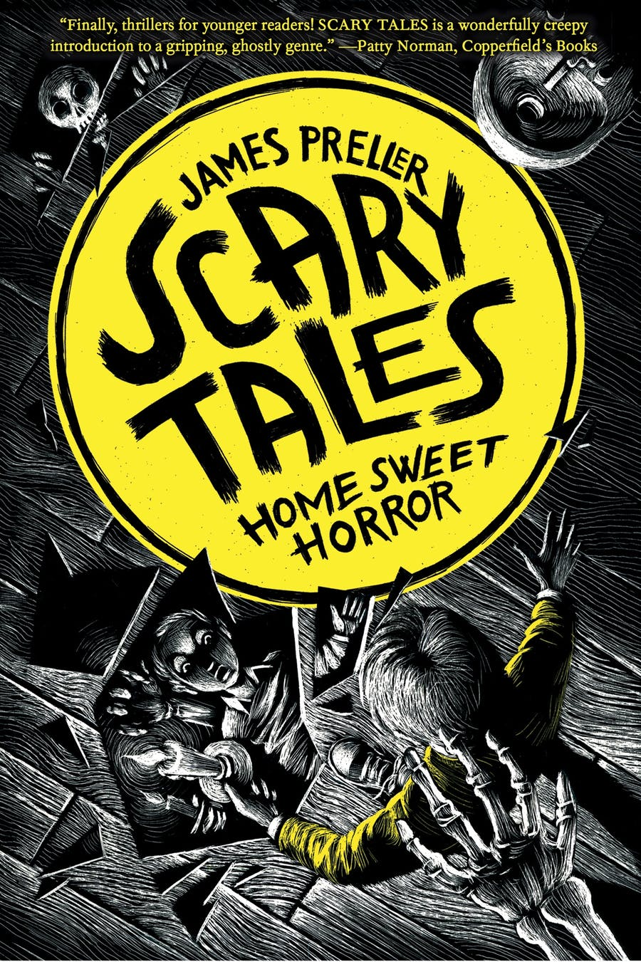 Home Sweet Horror by James Preller, illustrated by Iacopo Bruno