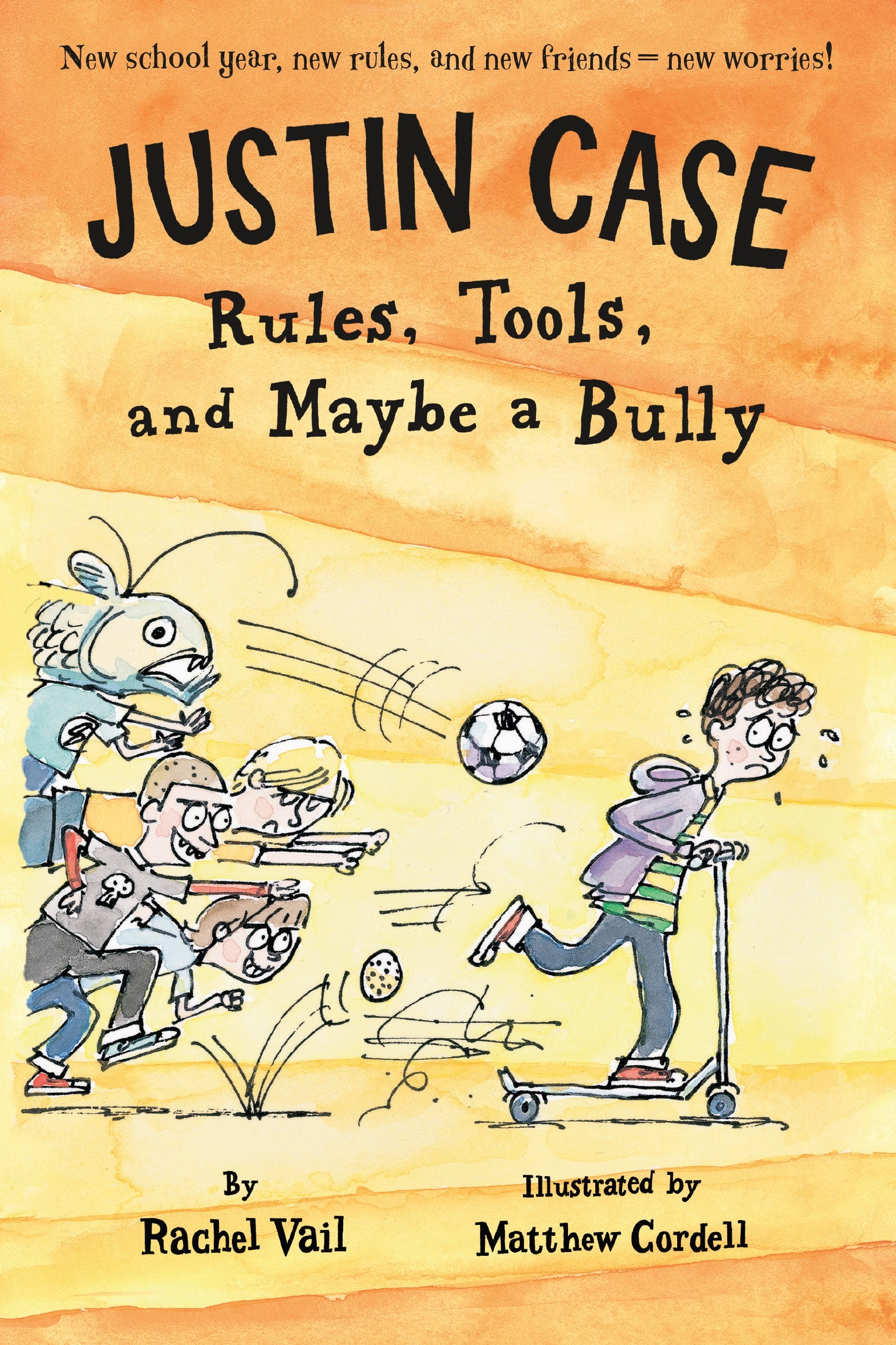 Image of Justin Case: Rules, Tools, and Maybe a Bully