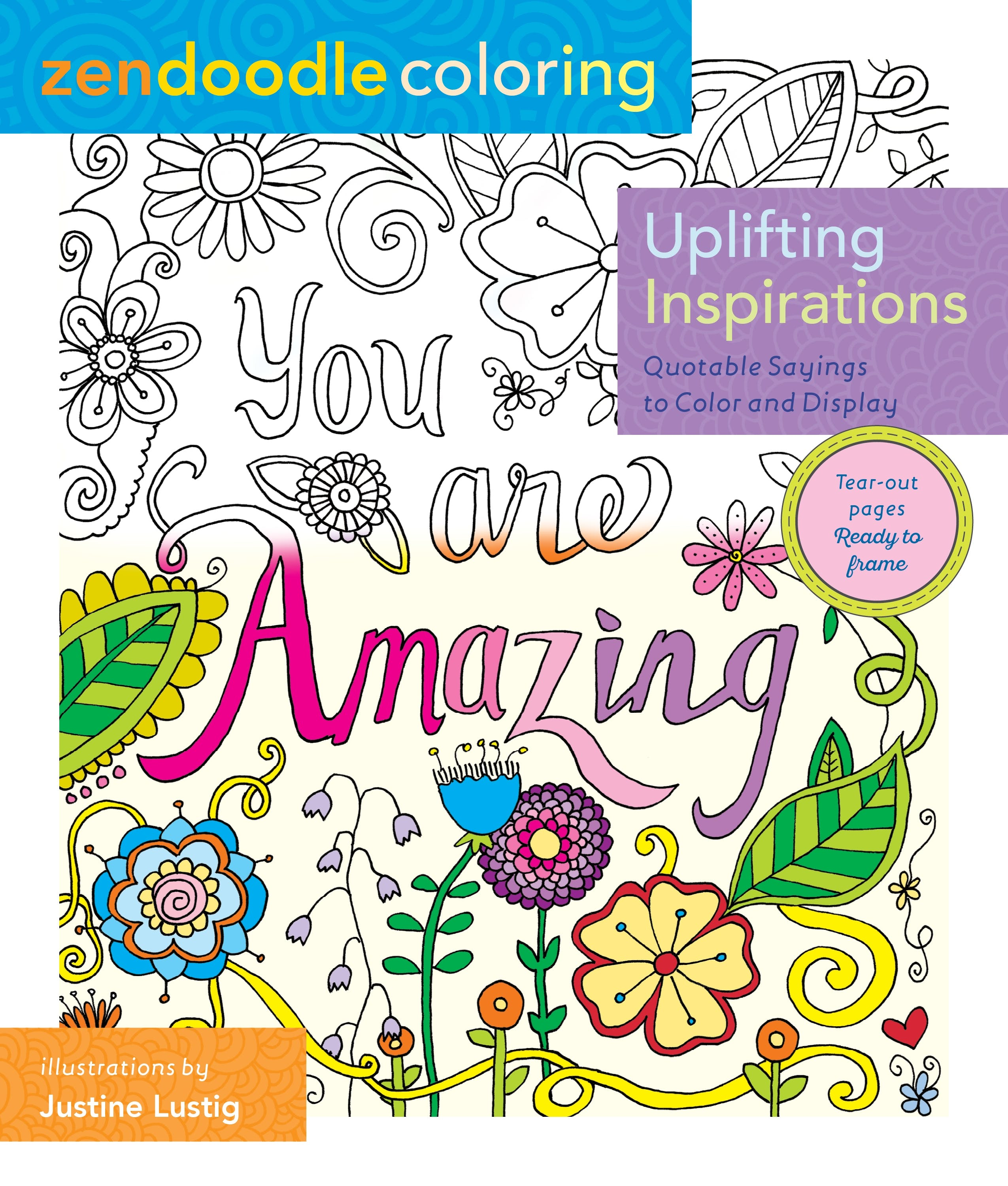 Image of Zendoodle Coloring: Uplifting Inspirations