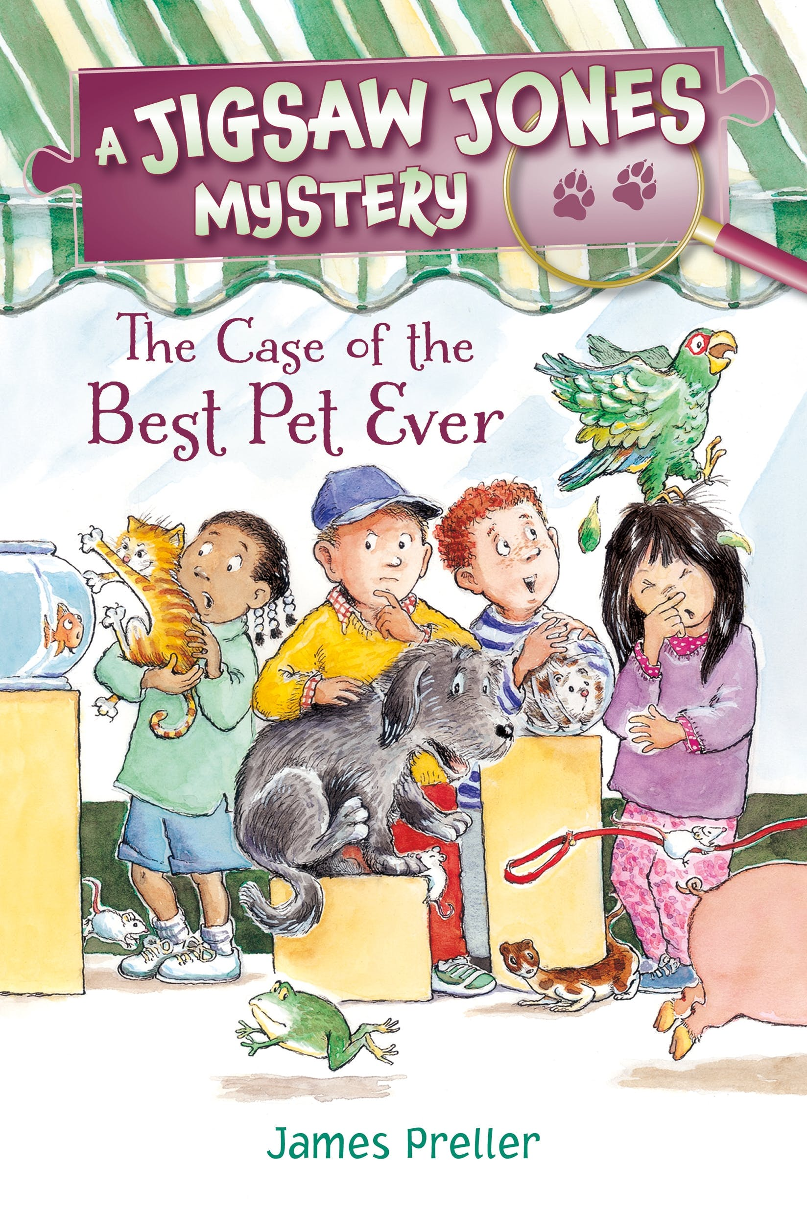 Image of Jigsaw Jones: The Case of the Best Pet Ever