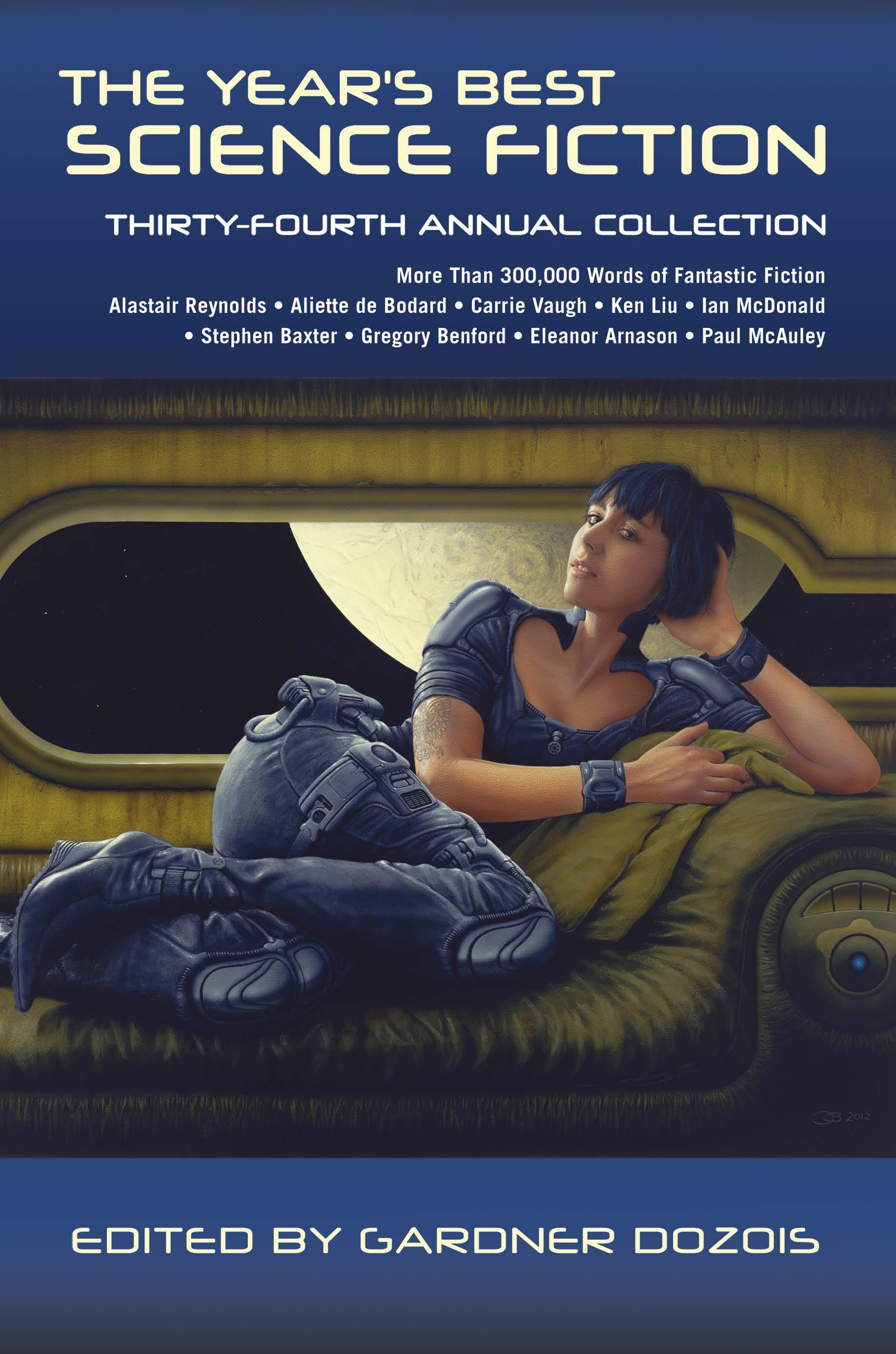 Image of The Year's Best Science Fiction: Thirty-Fourth Annual Collection