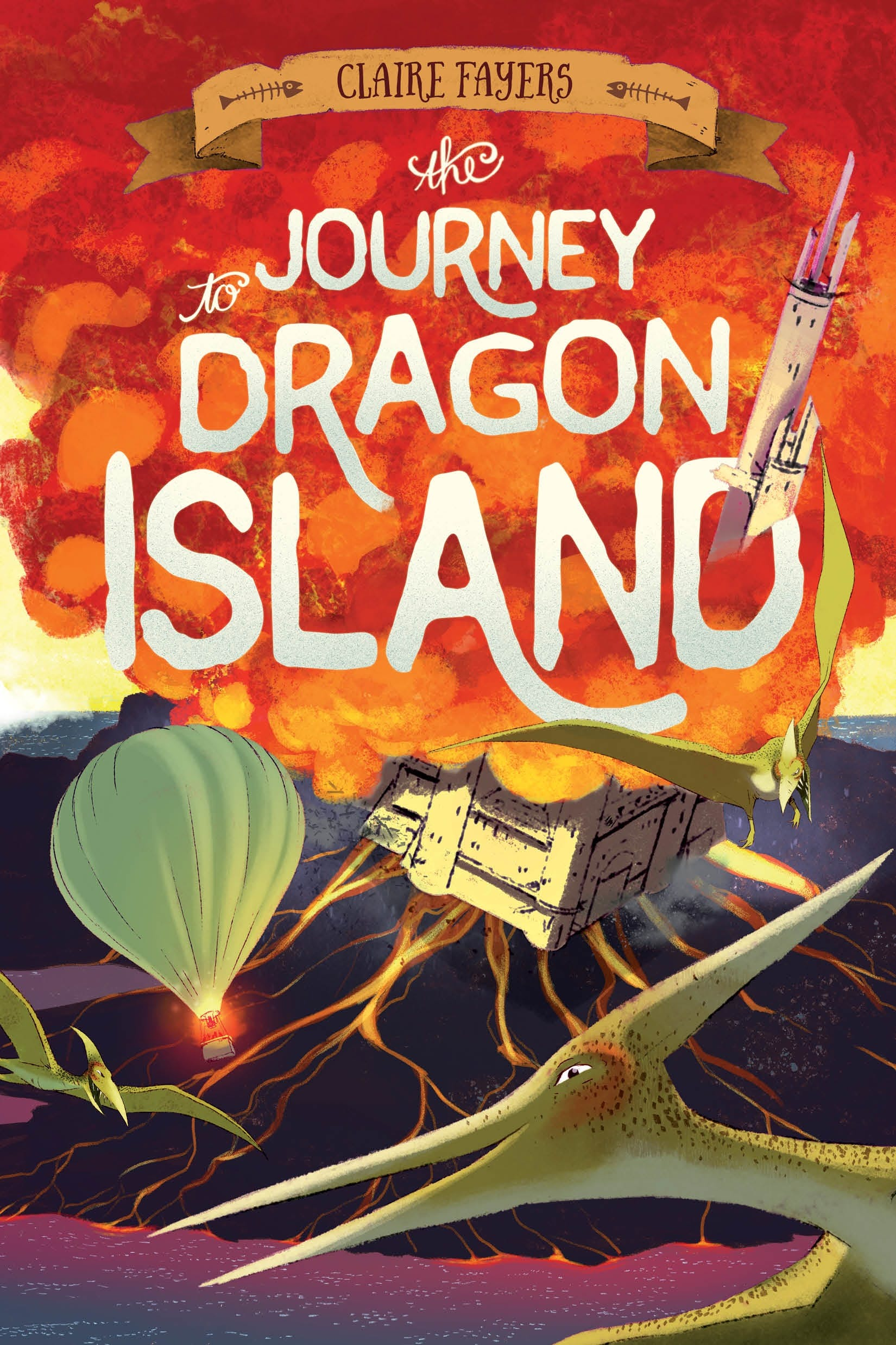 Image of The Journey to Dragon Island