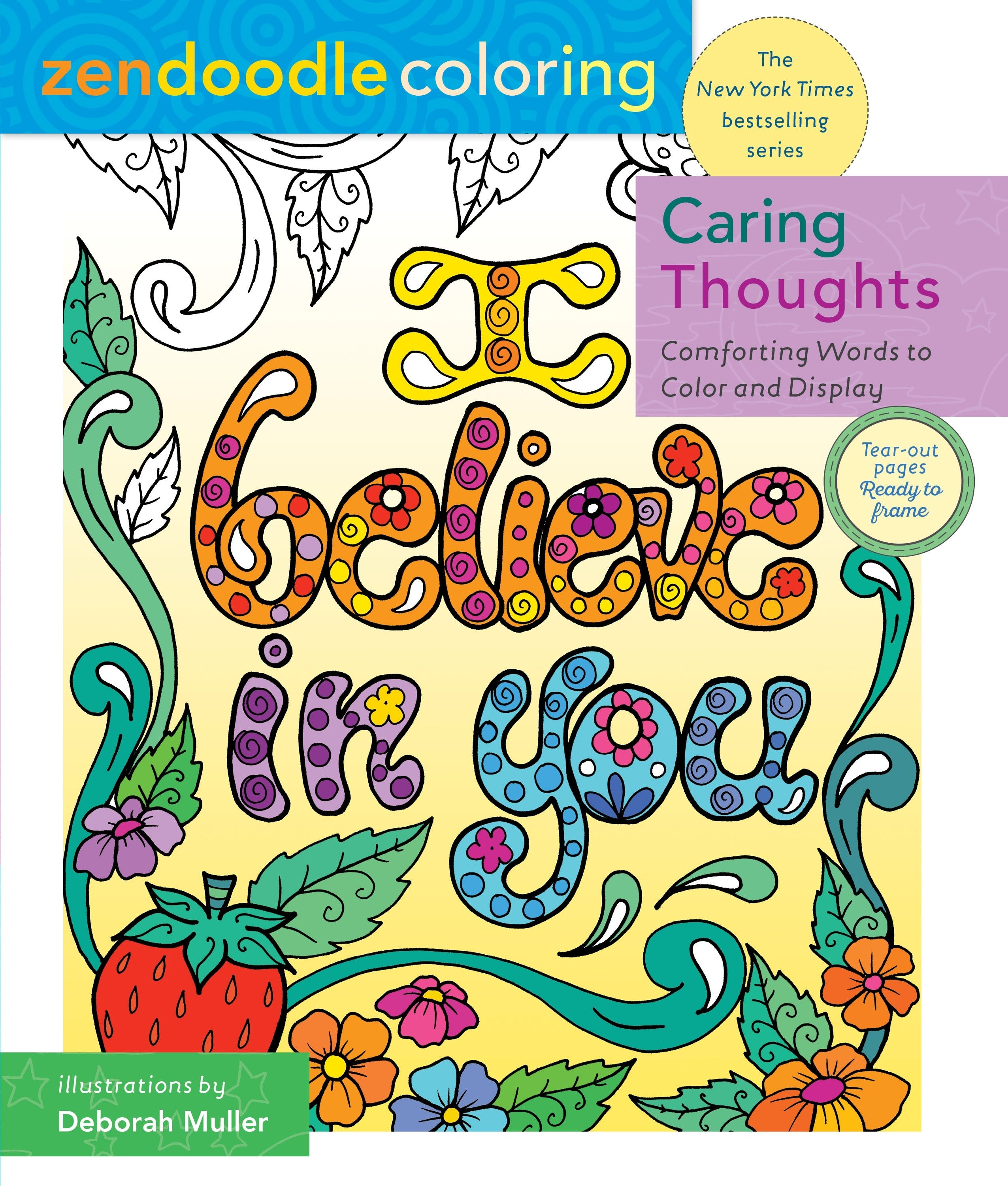 Image of Zendoodle Coloring: Caring Thoughts