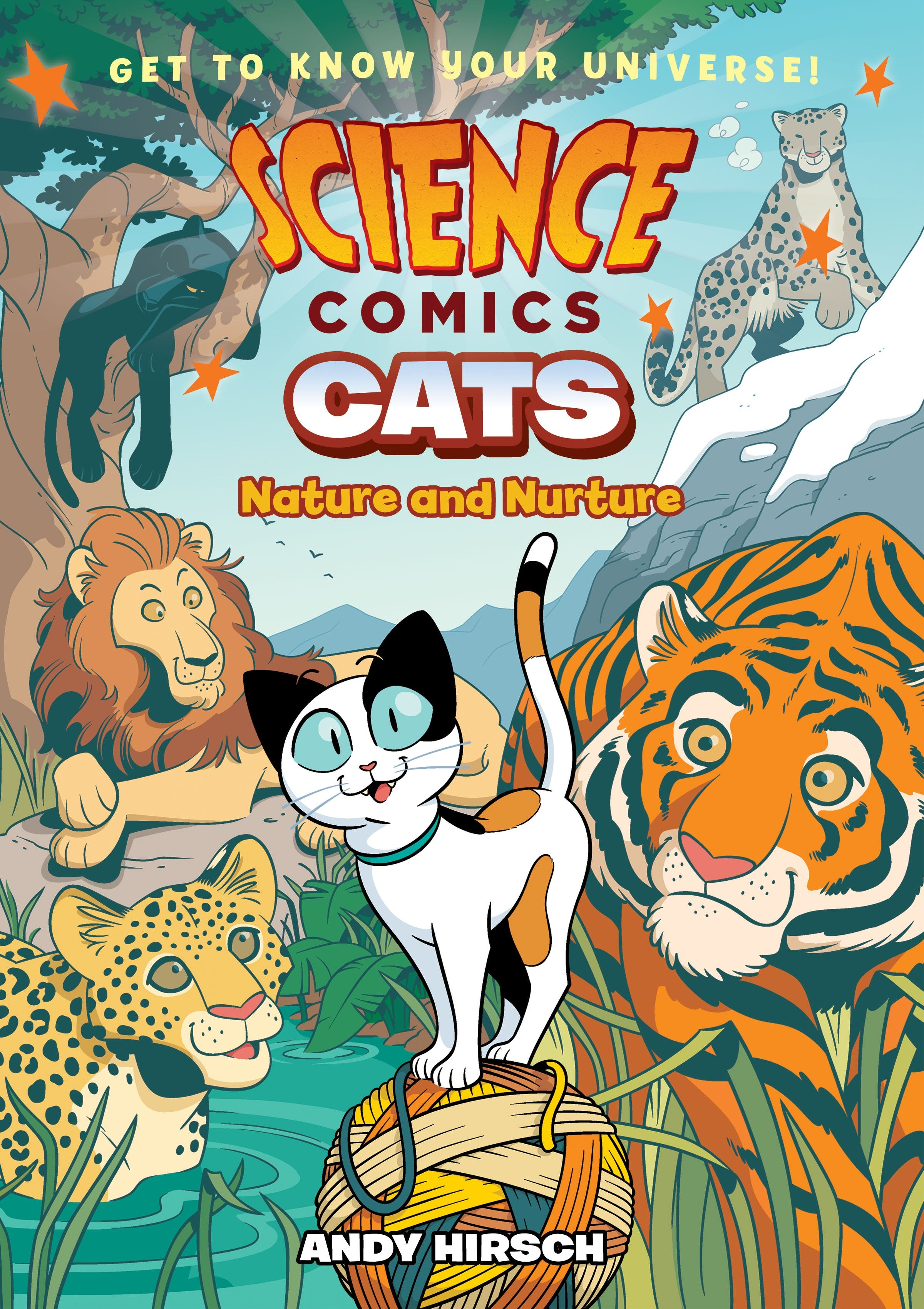 Image of Science Comics: Cats