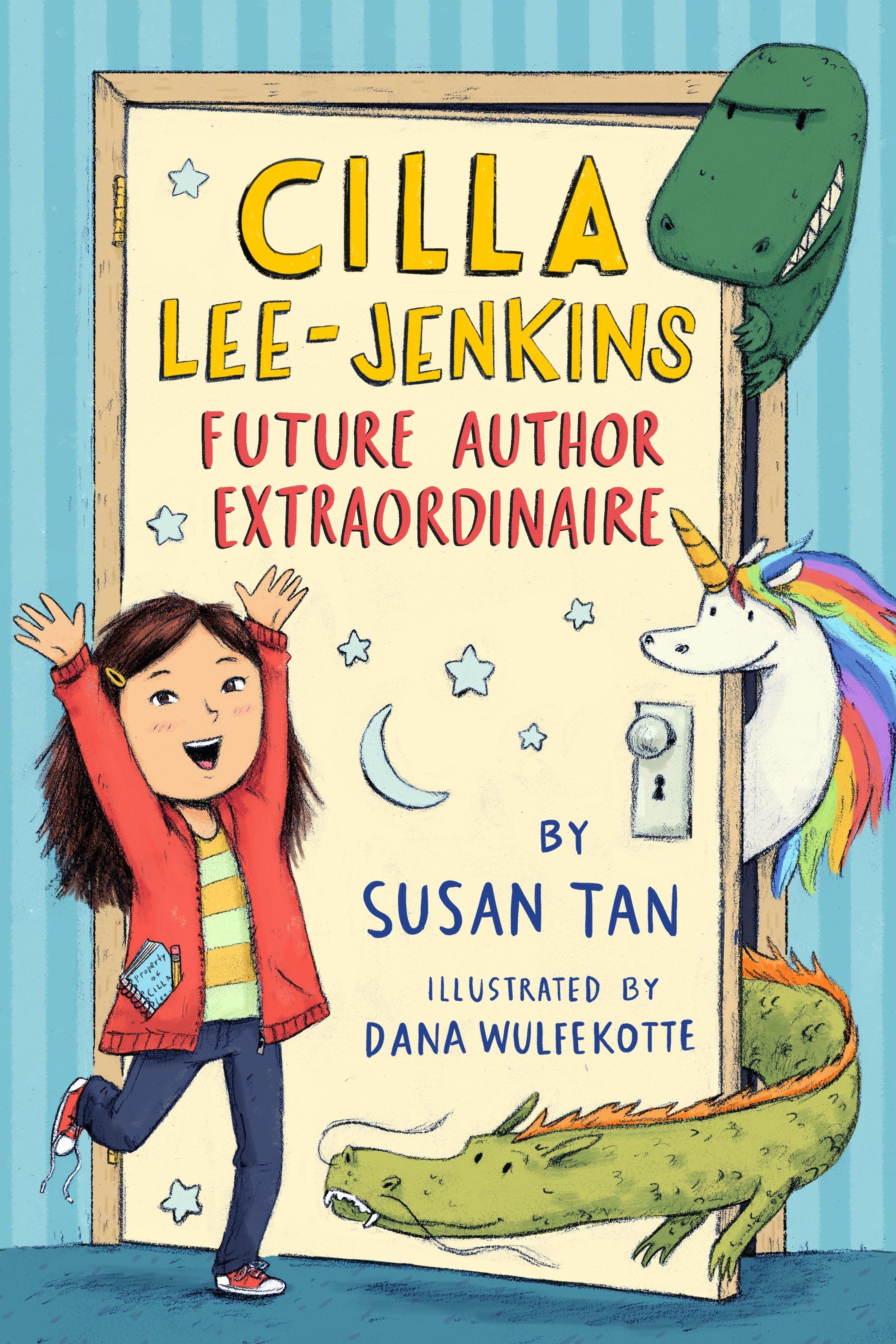 Image of Cilla Lee-Jenkins: Future Author Extraordinaire