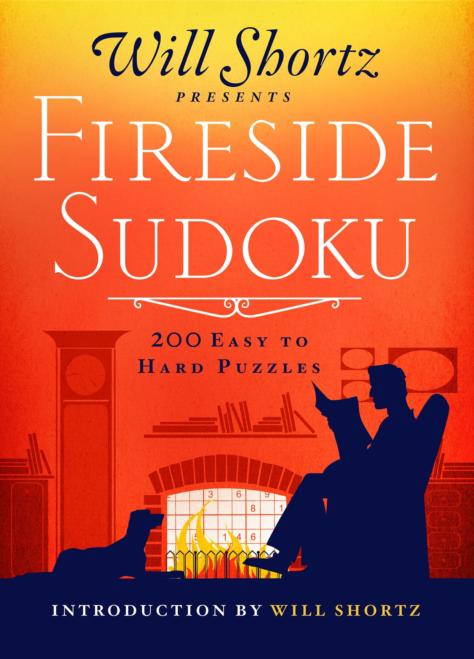 Image of Will Shortz Presents Fireside Sudoku: 200 Easy to Hard Puzzles