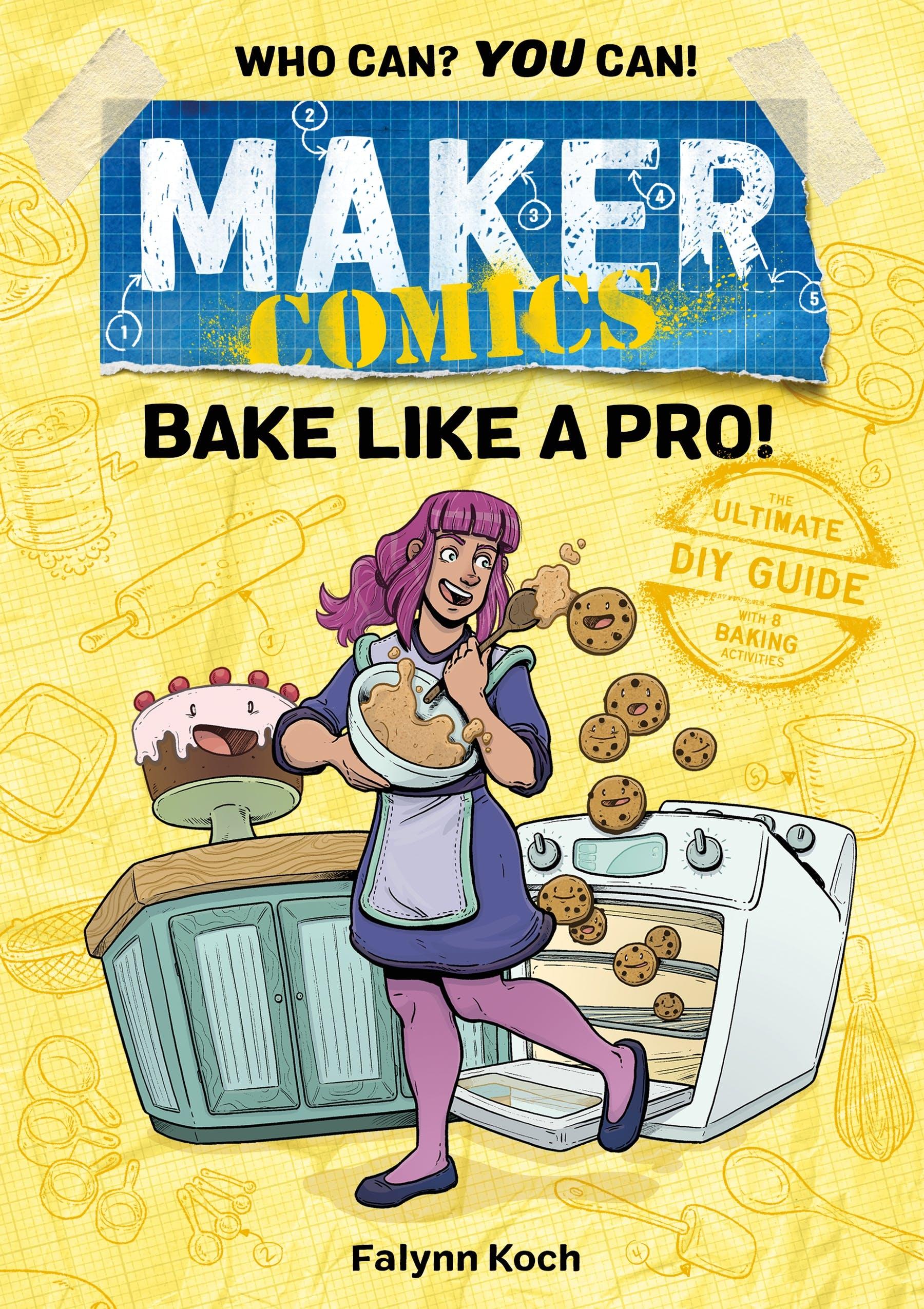 Image of Maker Comics: Bake Like a Pro!