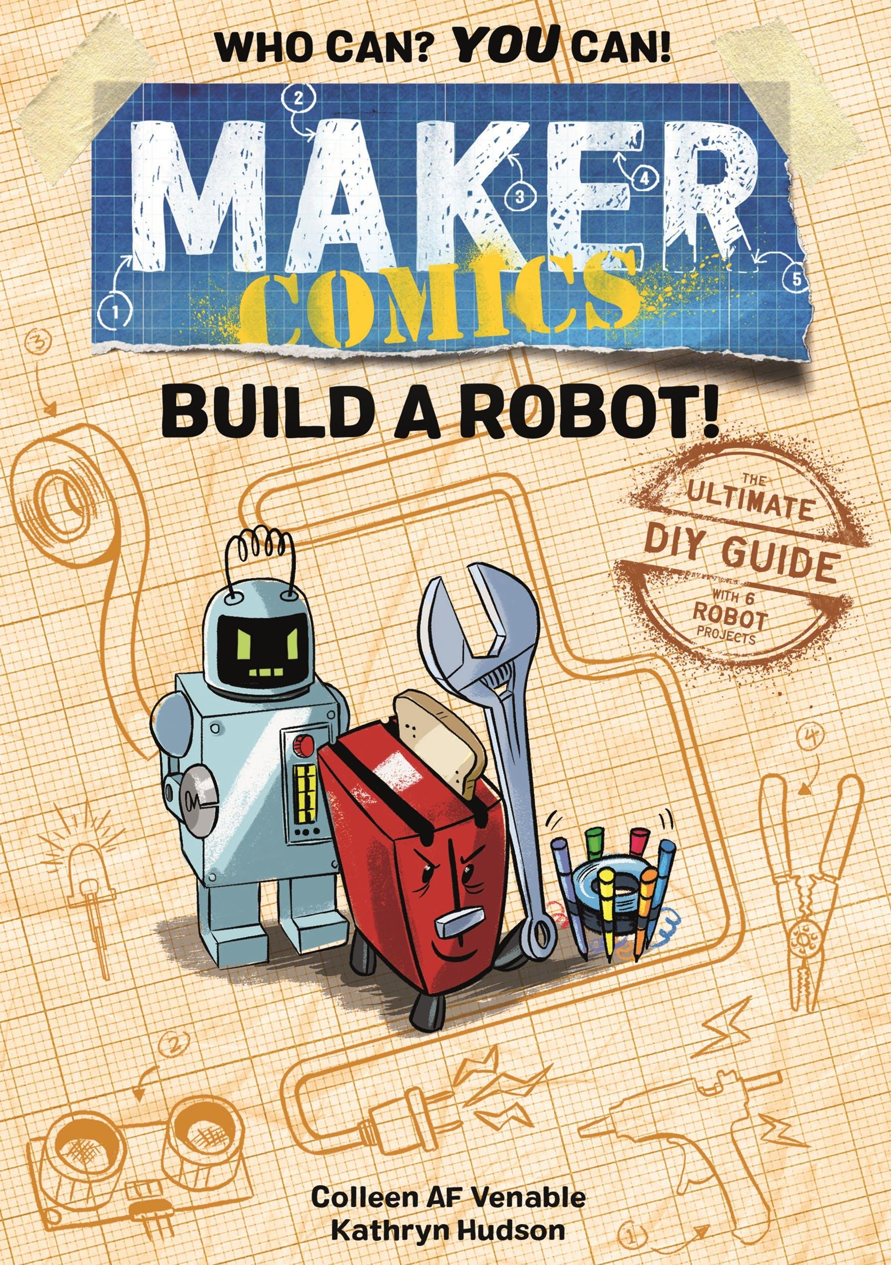 Image of Maker Comics: Build a Robot!