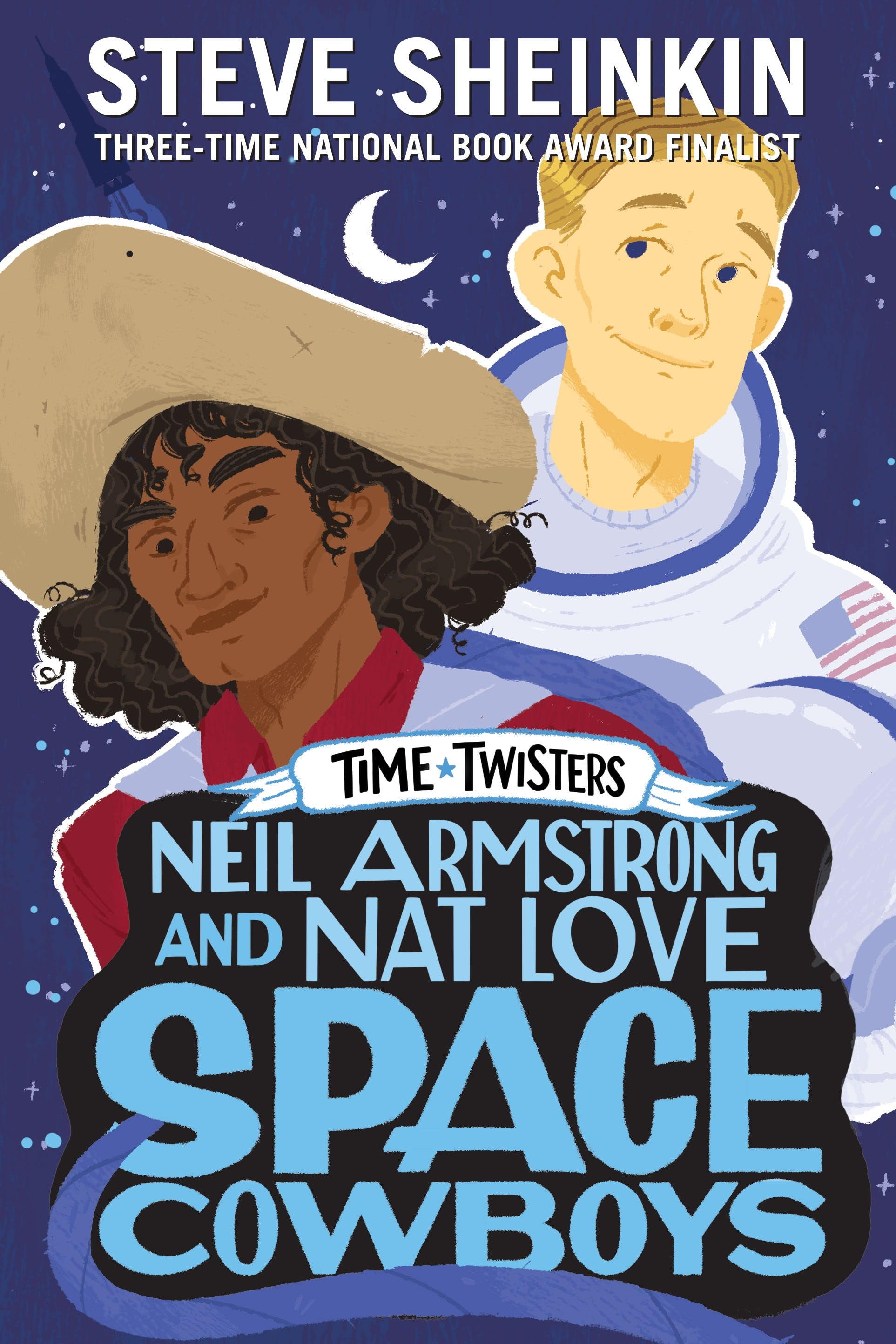 Image of Neil Armstrong and Nat Love, Space Cowboys