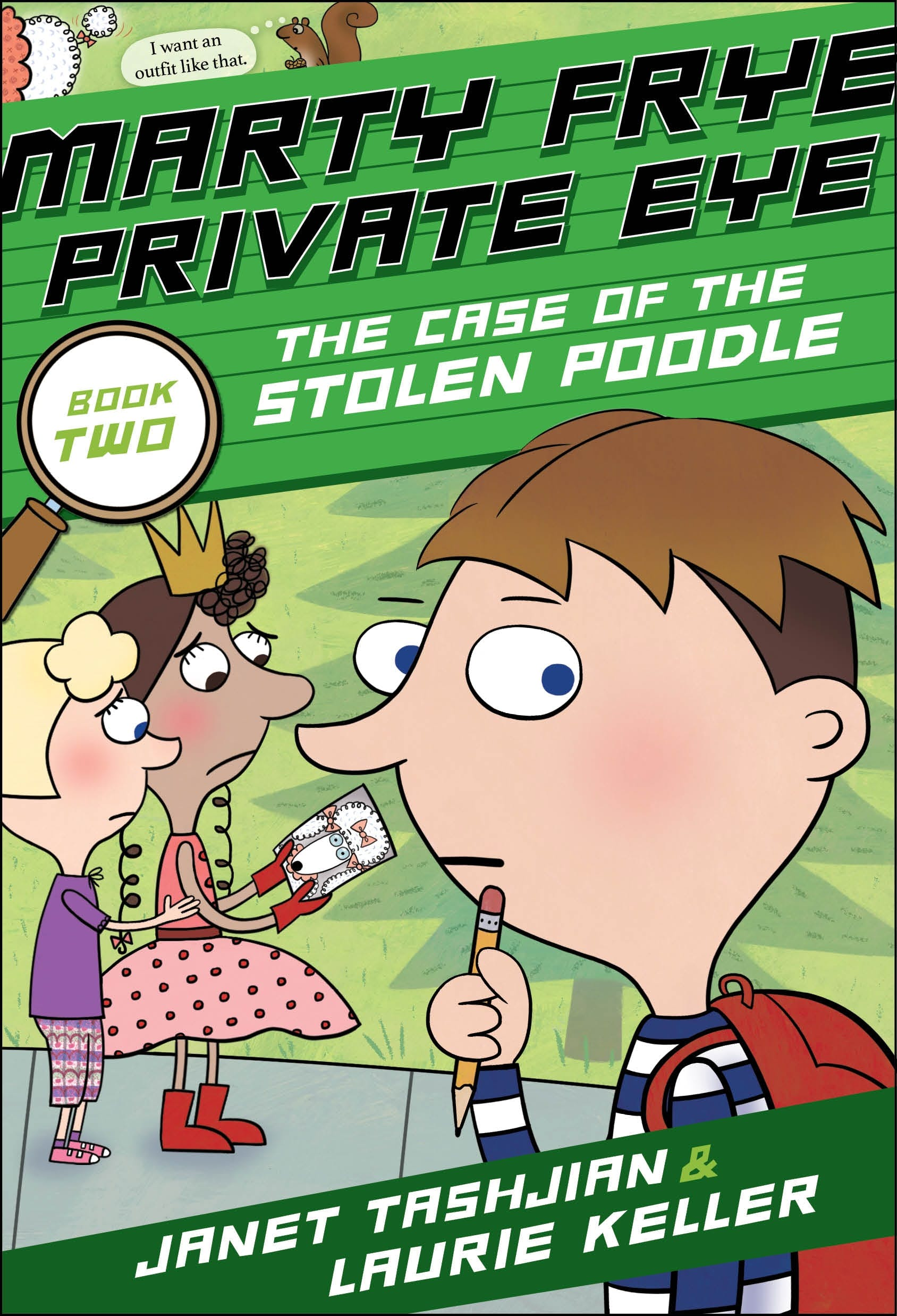 Image of Marty Frye, Private Eye: The Case of the Stolen Poodle