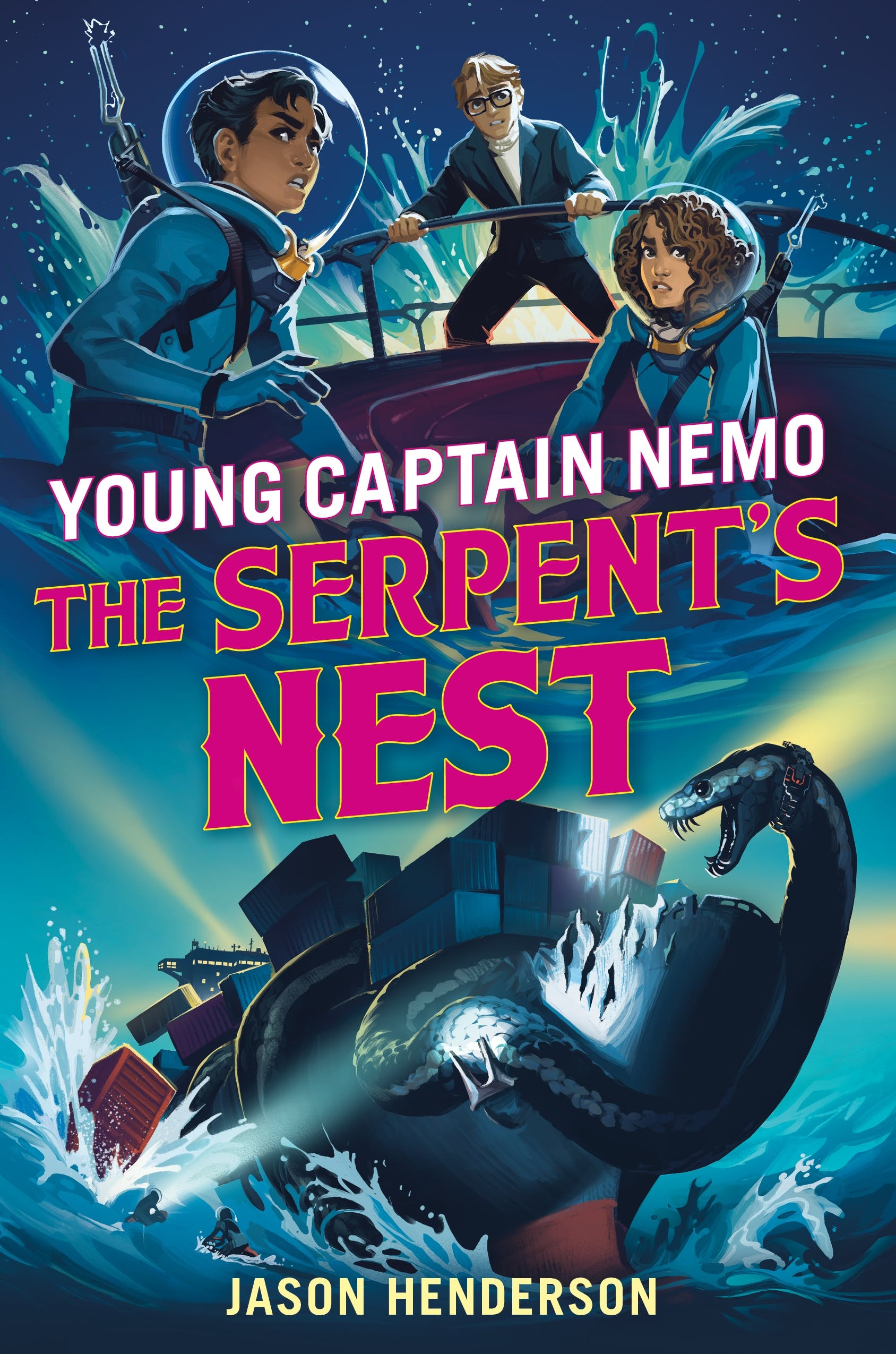 Image of The Serpent's Nest: Young Captain Nemo