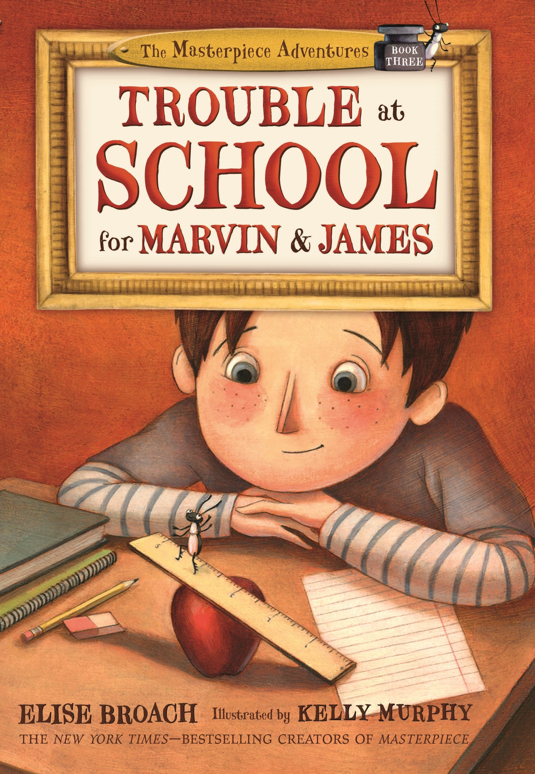 Image of Trouble at School for Marvin & James