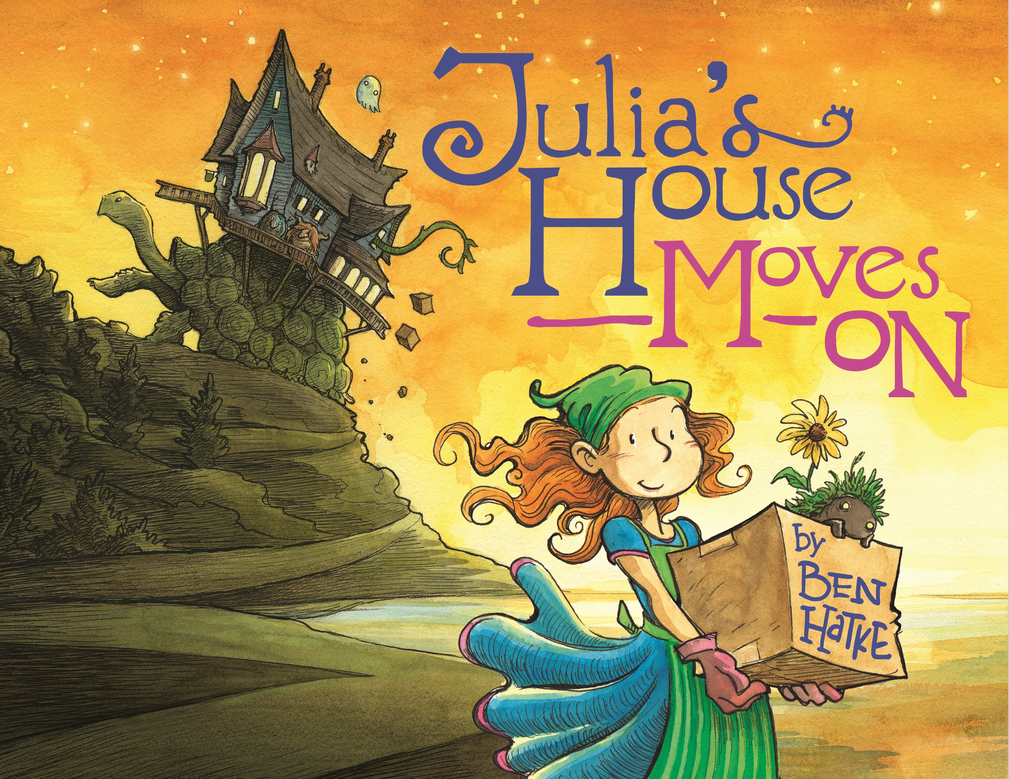 Image of Julia's House Moves On