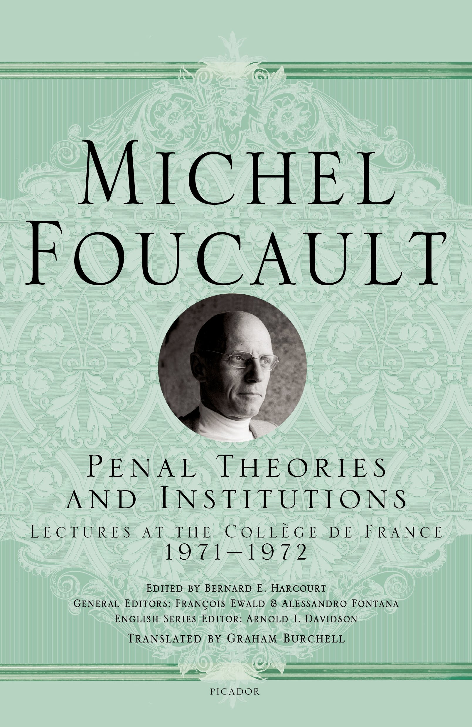 Image of Penal Theories and Institutions