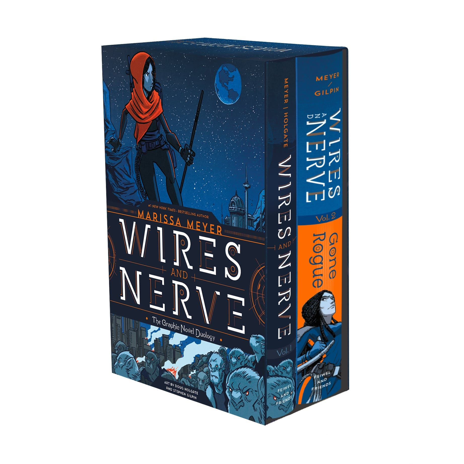 Image of Wires and Nerve: The Graphic Novel Duology Boxed Set