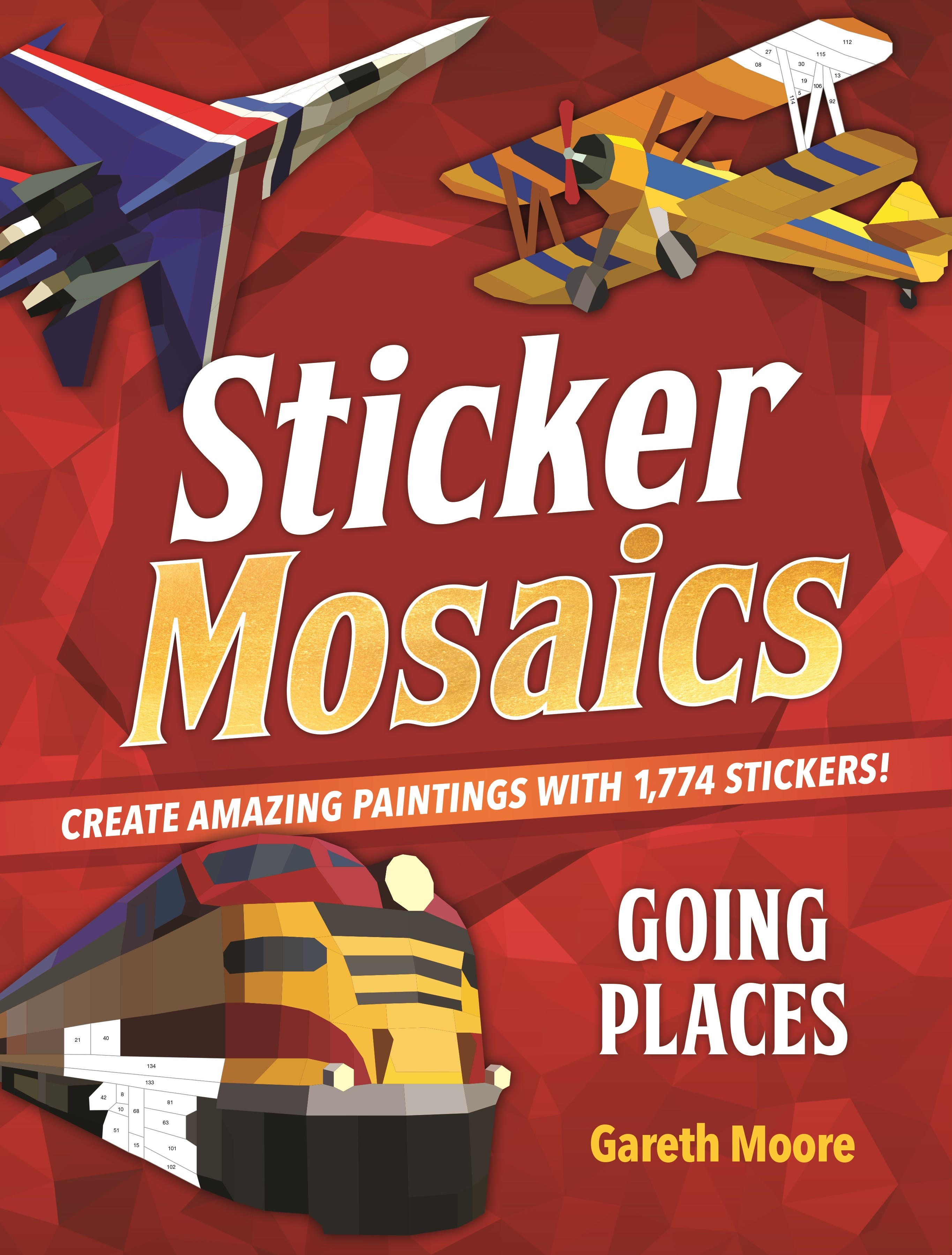 Image of Sticker Mosaics: Going Places