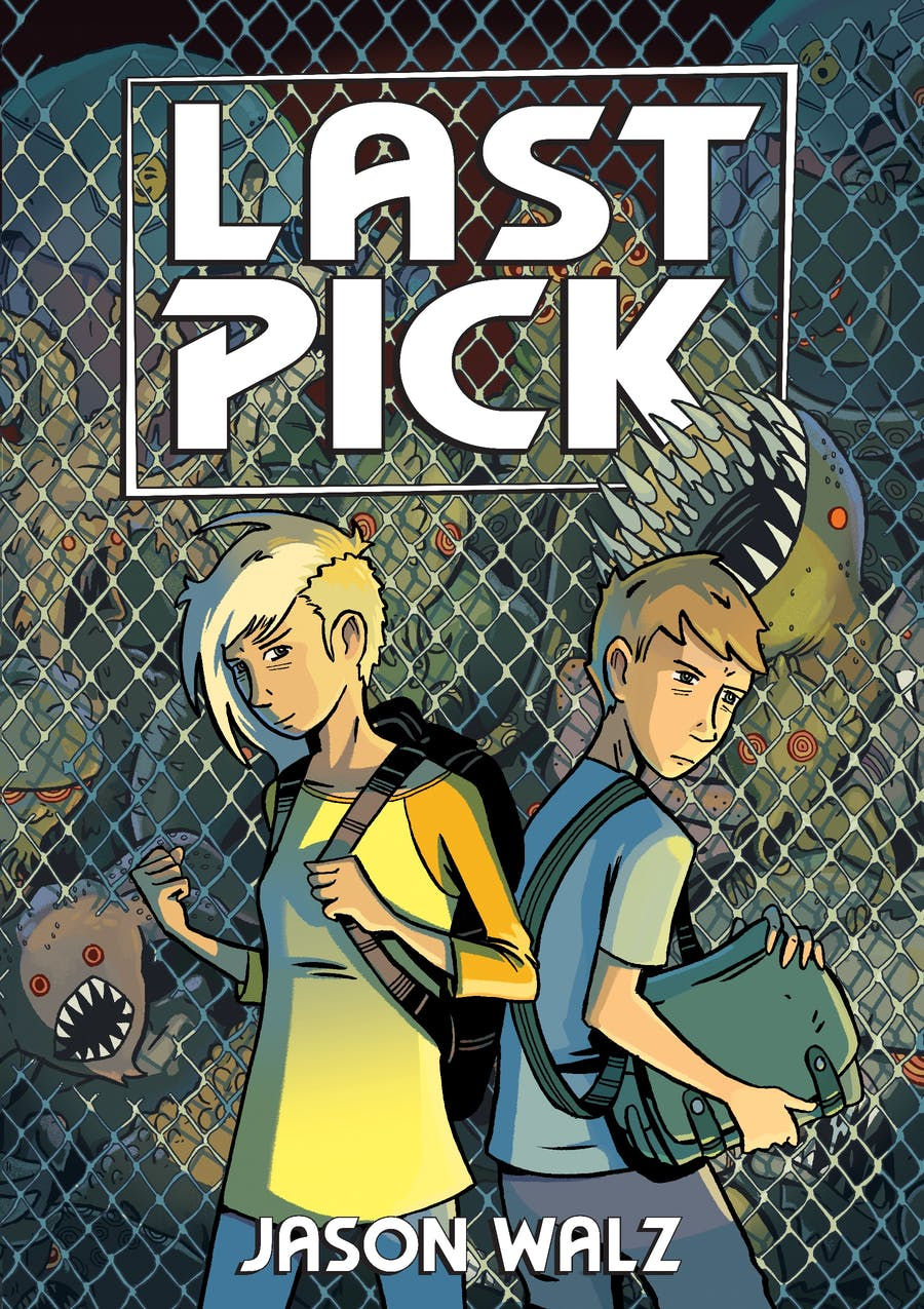 Last Pick by Written and illustrated by Jason Walz