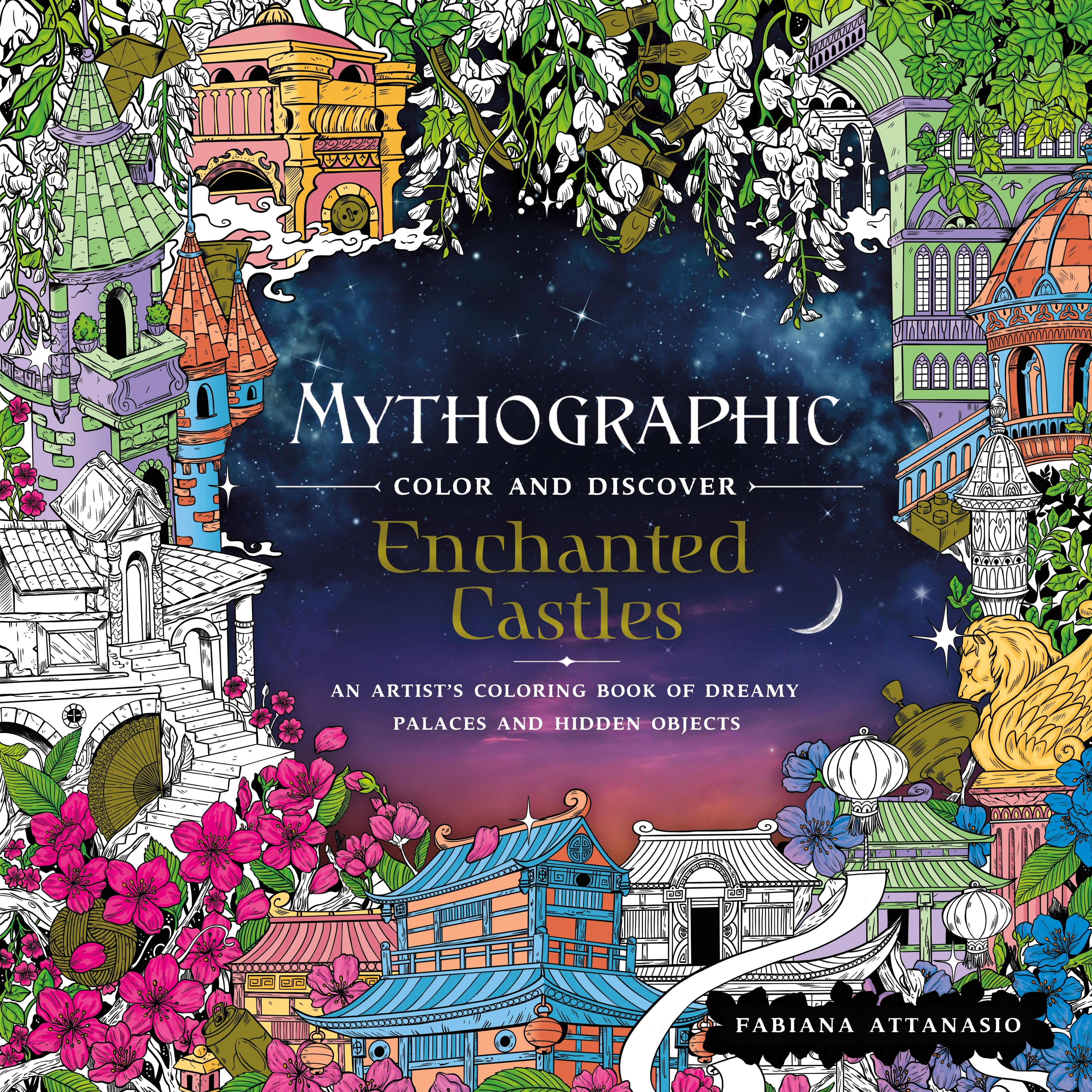 Image of Mythographic Color and Discover: Enchanted Castles