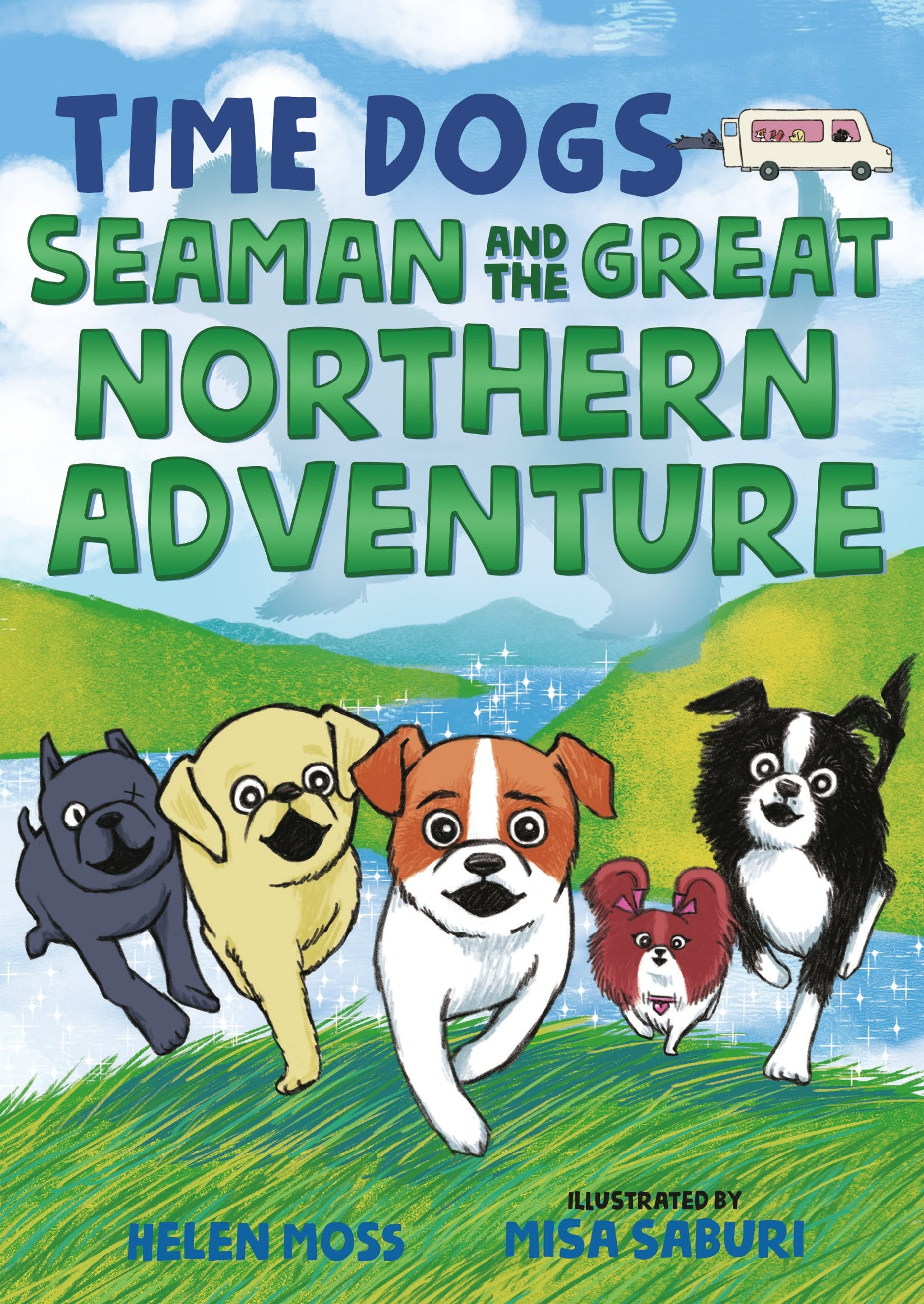 Image of Time Dogs: Seaman and the Great Northern Adventure