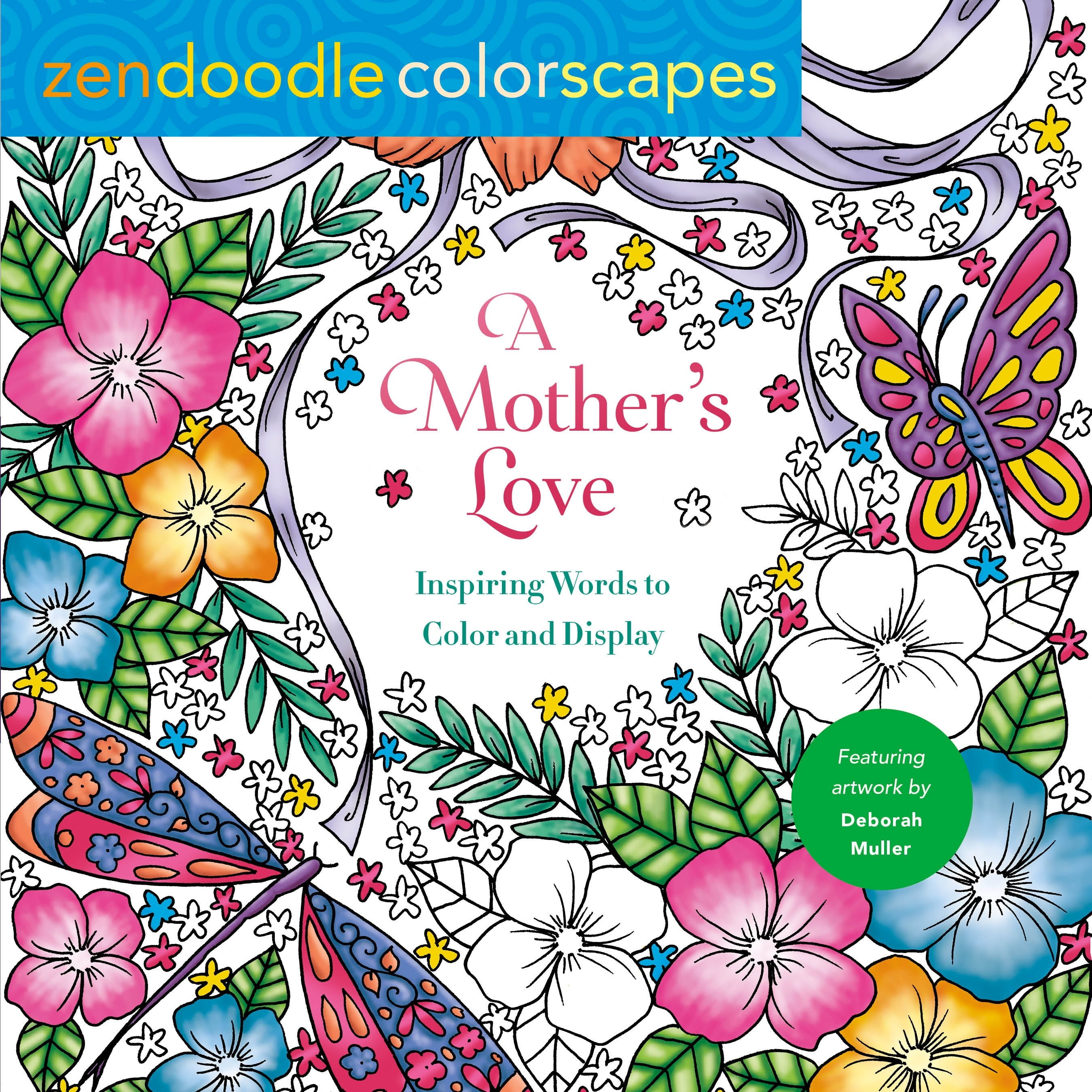 Image of Zendoodle Colorscapes: A Mother's Love
