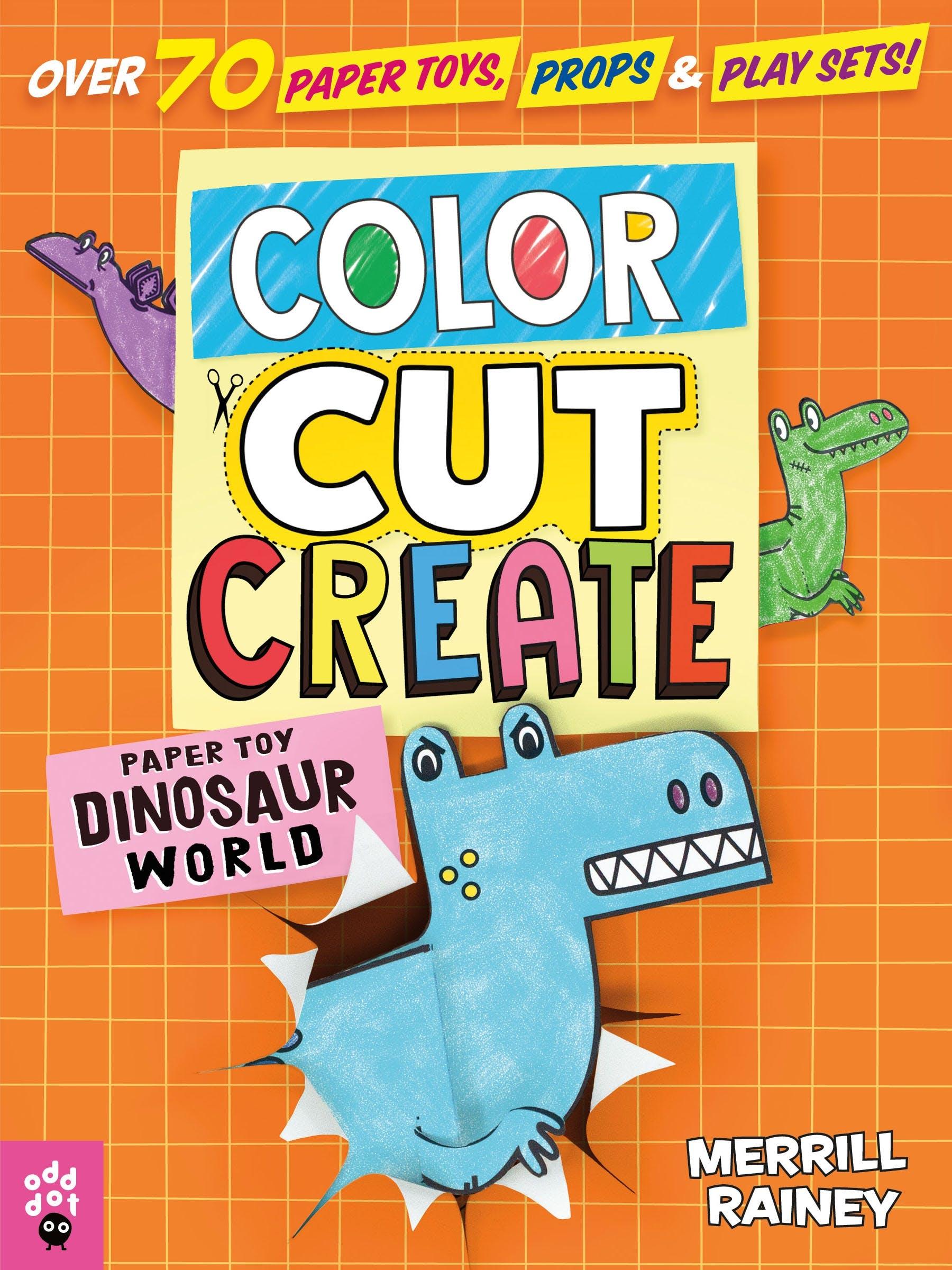 Image of Color, Cut, Create Play Sets: Dinosaur World
