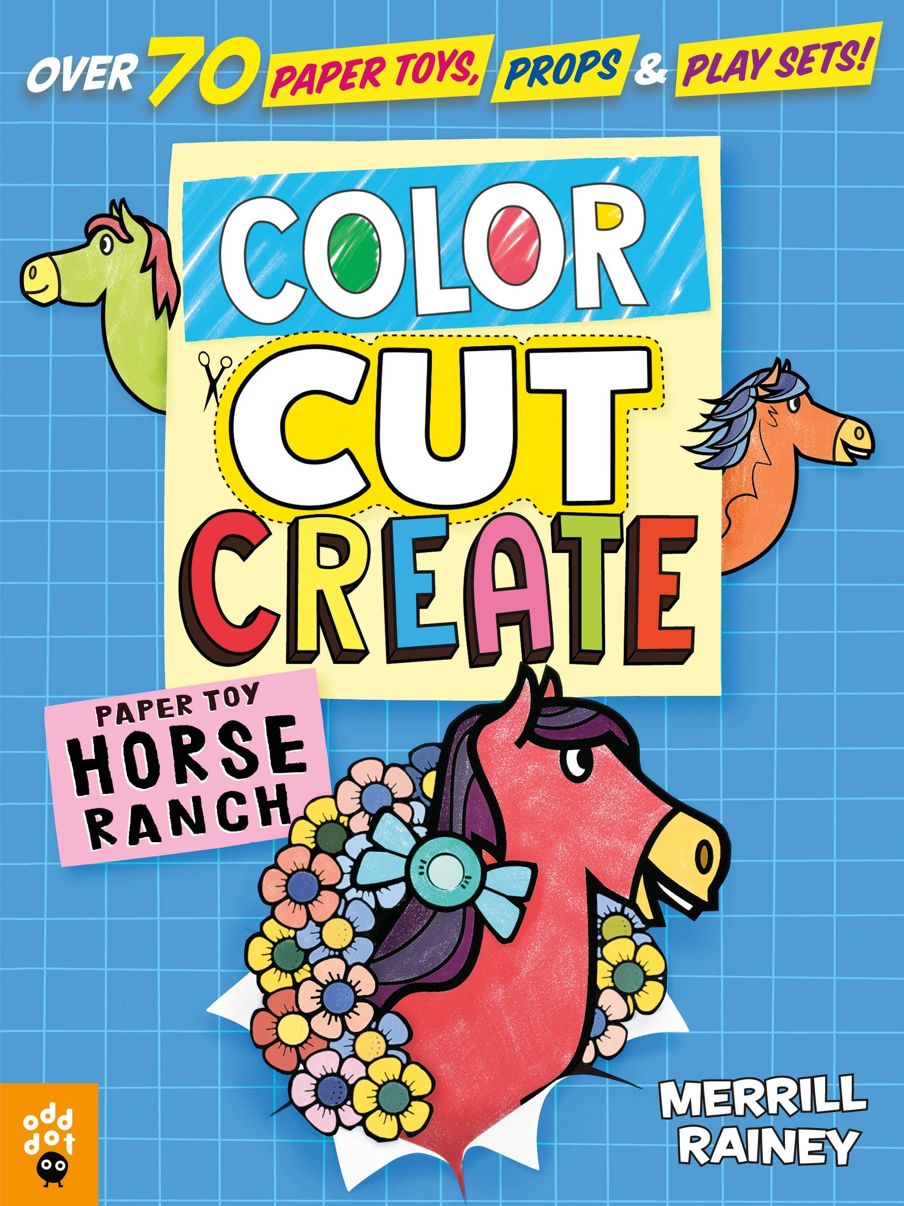 Image of Color, Cut, Create Play Sets: Horse Ranch