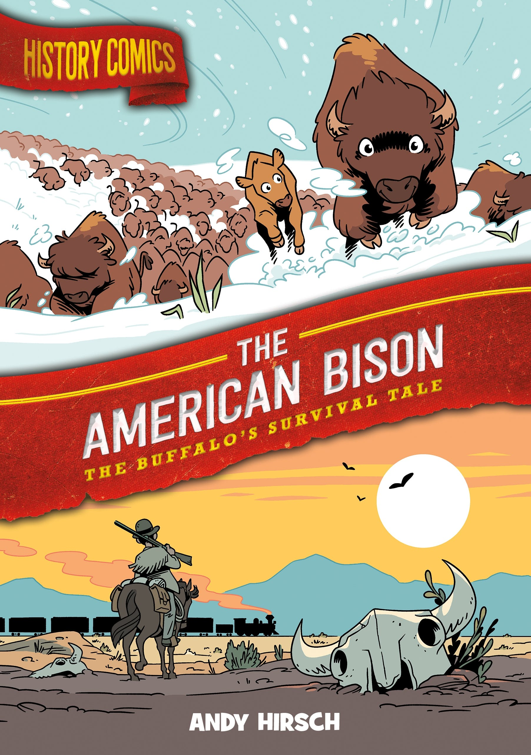 Image of History Comics: The American Bison