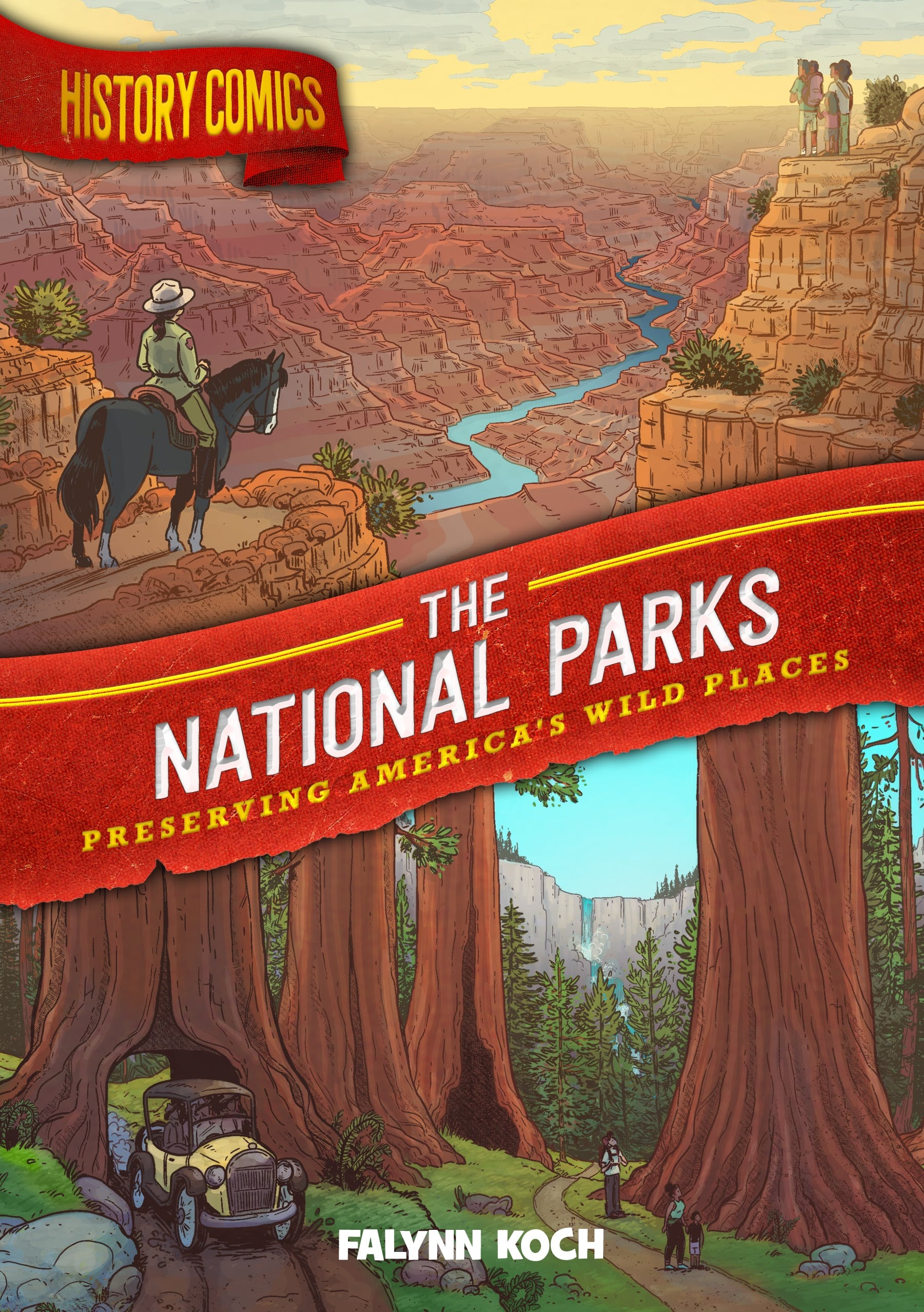Image of History Comics: The National Parks