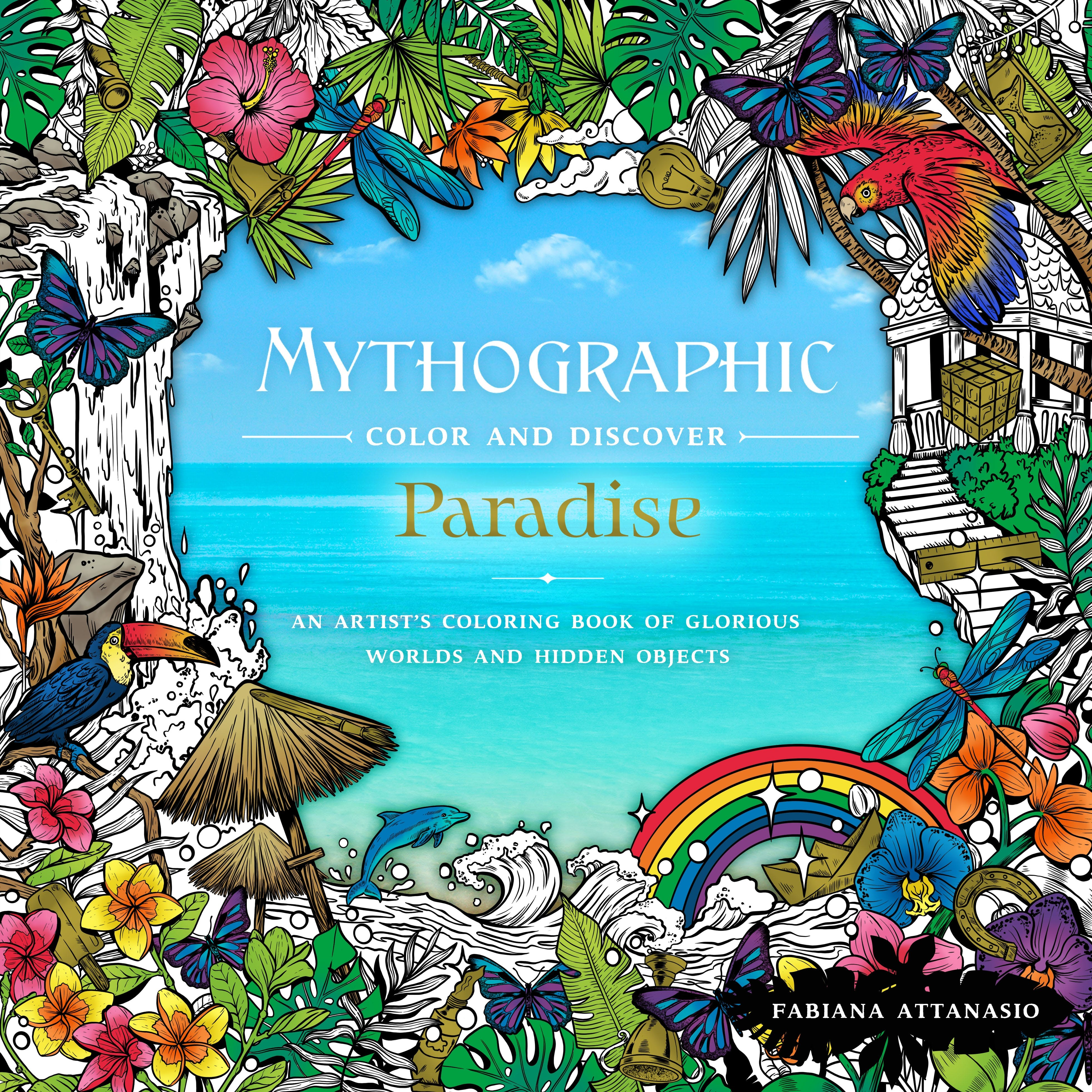 Image of Mythographic Color & Discover: Paradise