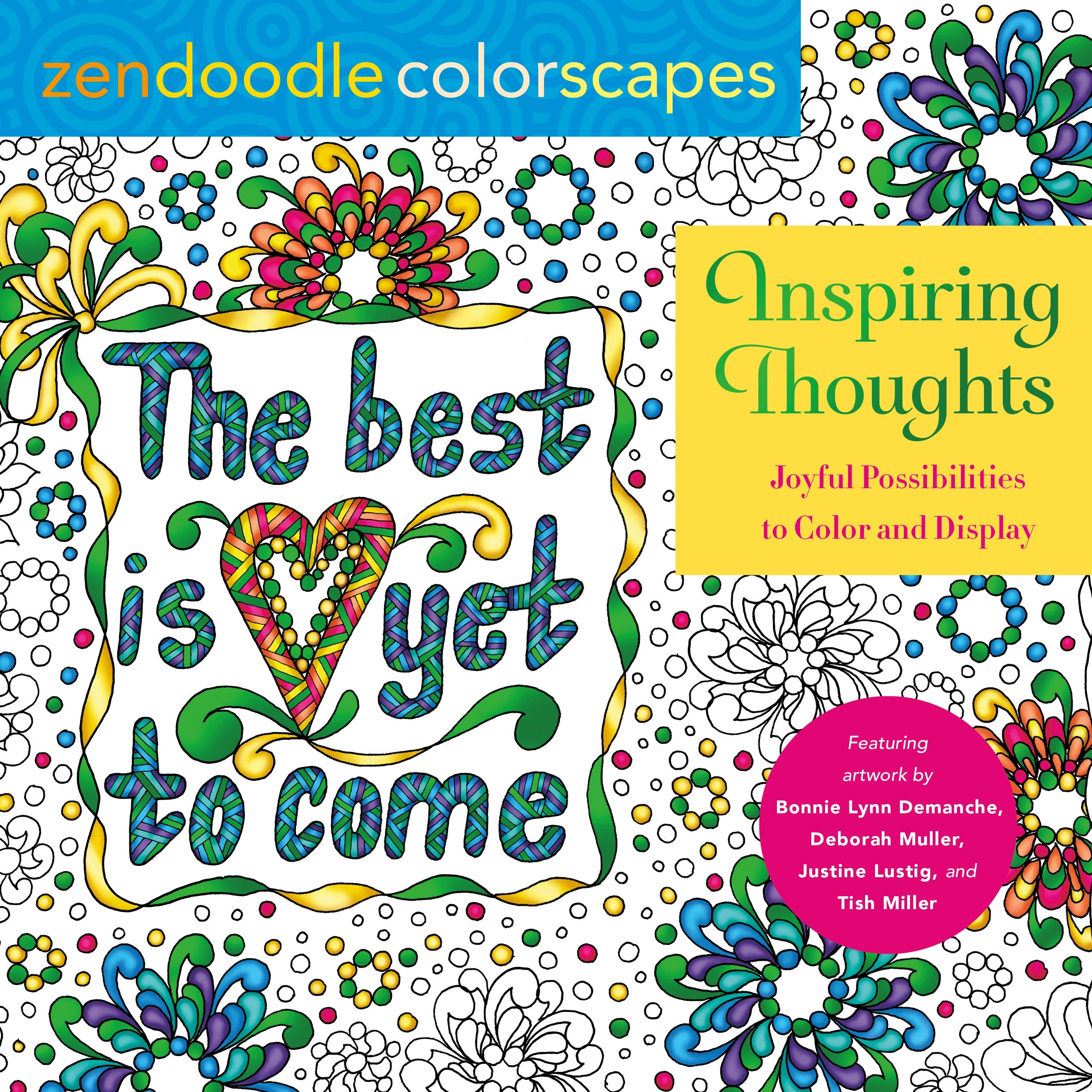Image of Zendoodle Colorscapes: Inspiring Thoughts