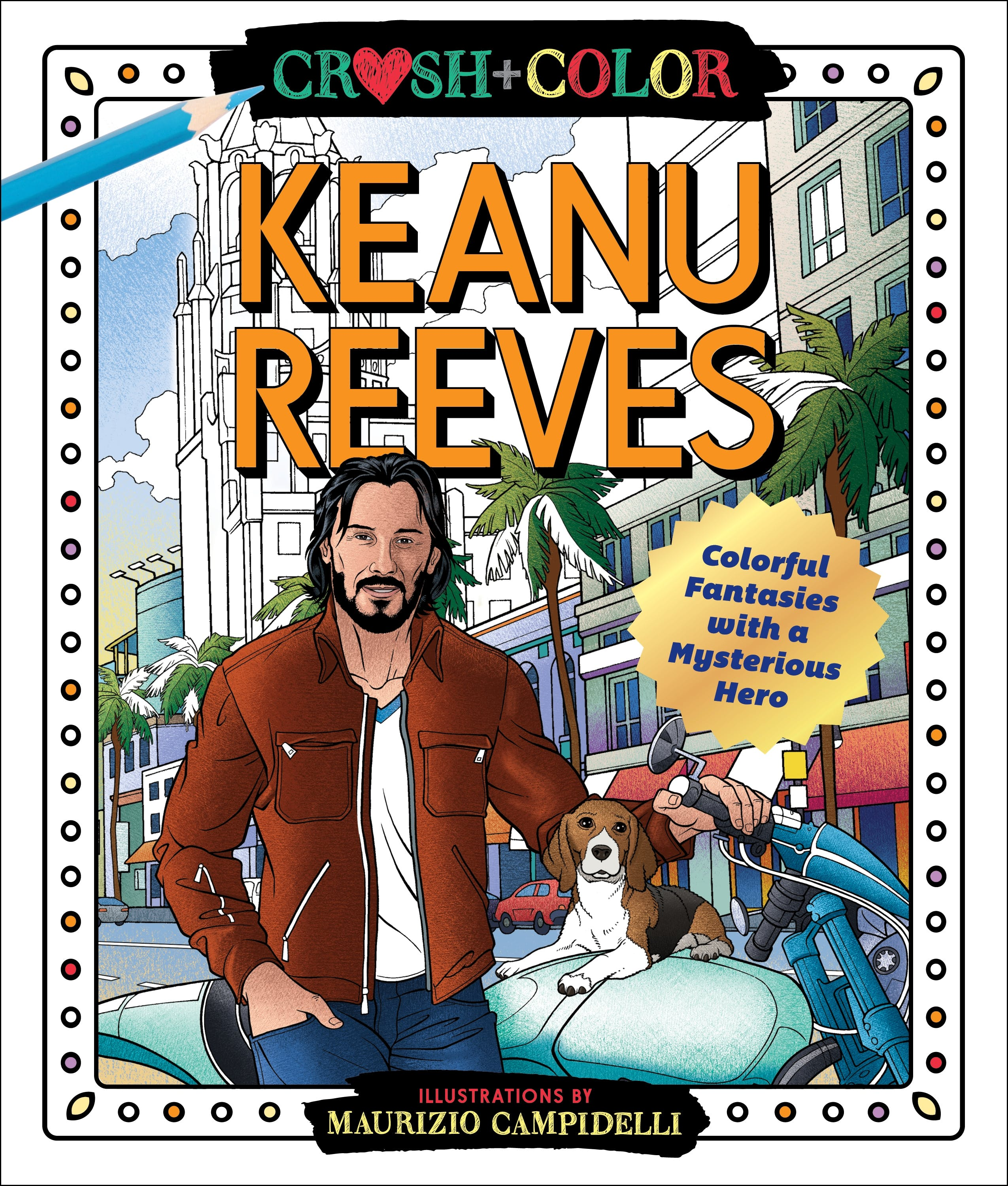 Image of Crush and Color: Keanu Reeves